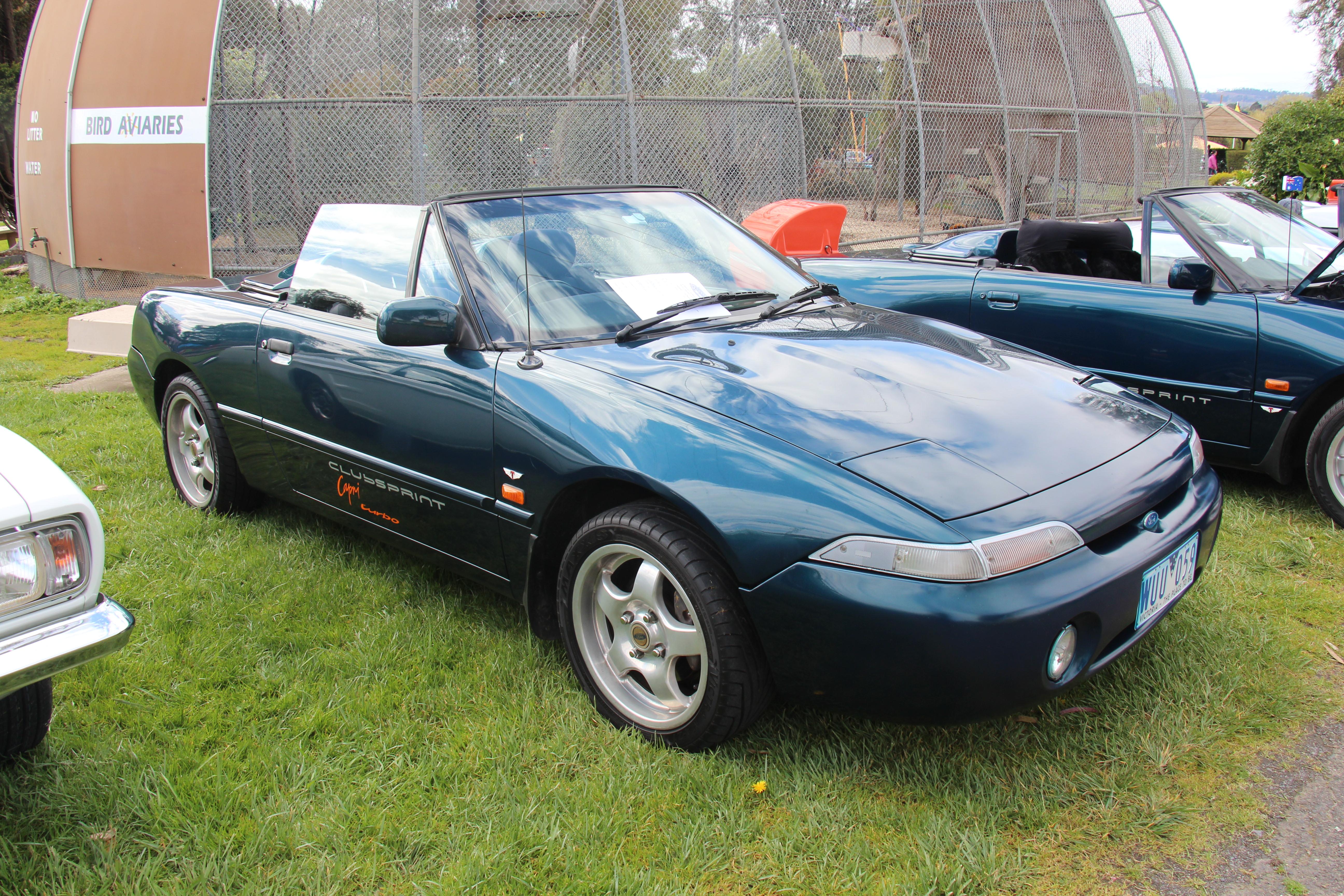 File 1993 Ford Capri Se Clubsprint Turbo Convertible 15152456788 Jpg Wikimedia Commons