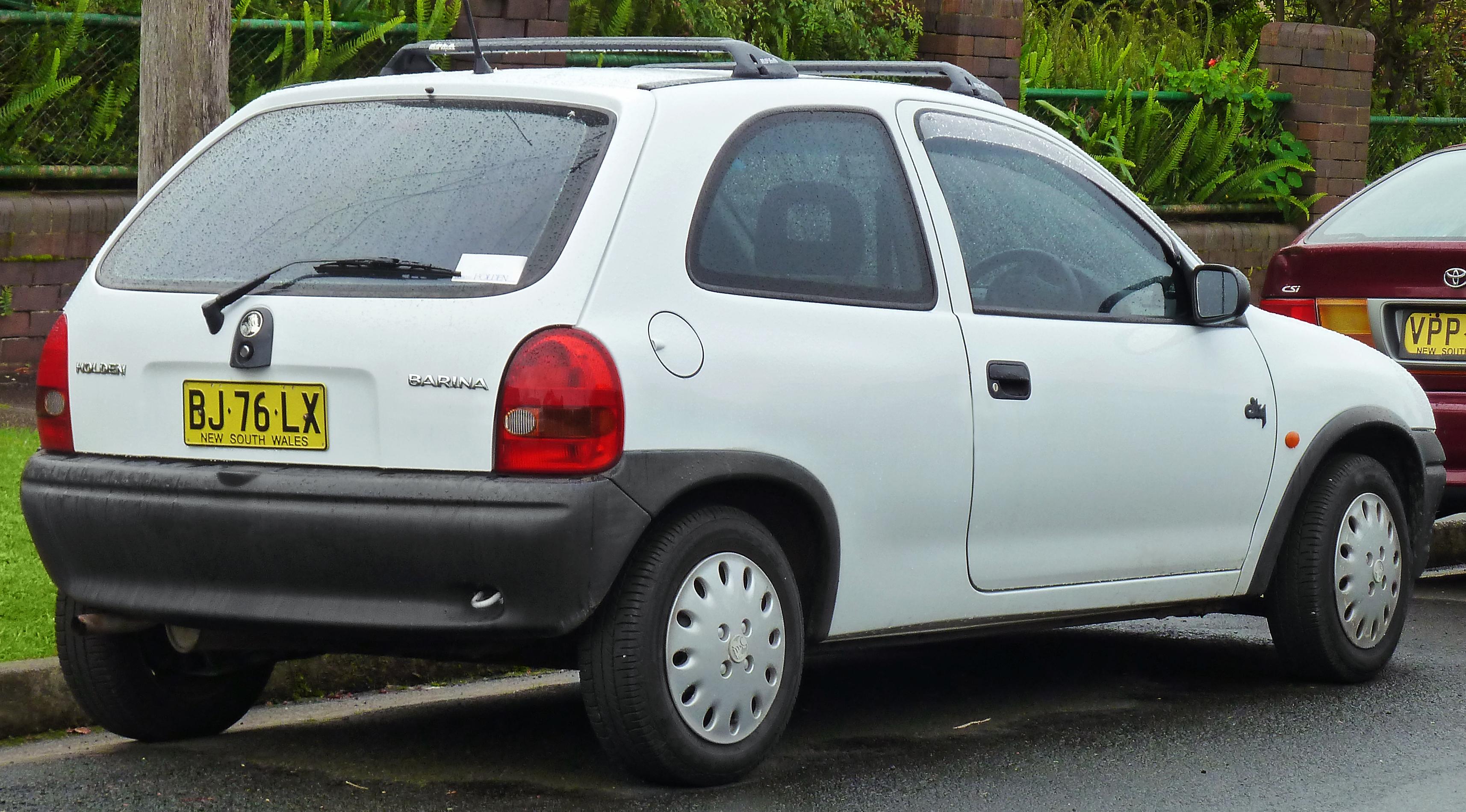 File 1996 1997 Holden Barina Sb City 3 Door Hatchback