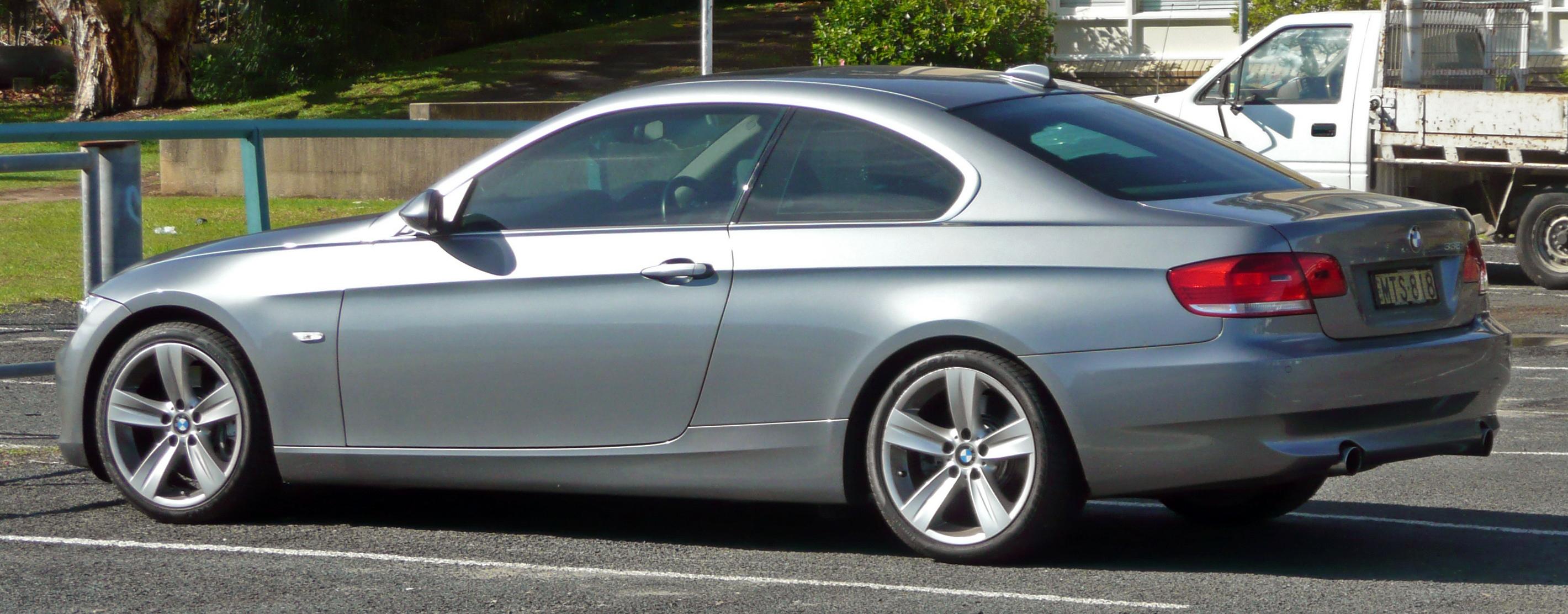 File BMW I E Coupe Jpg Wikimedia Commons - 2006 bmw 335i