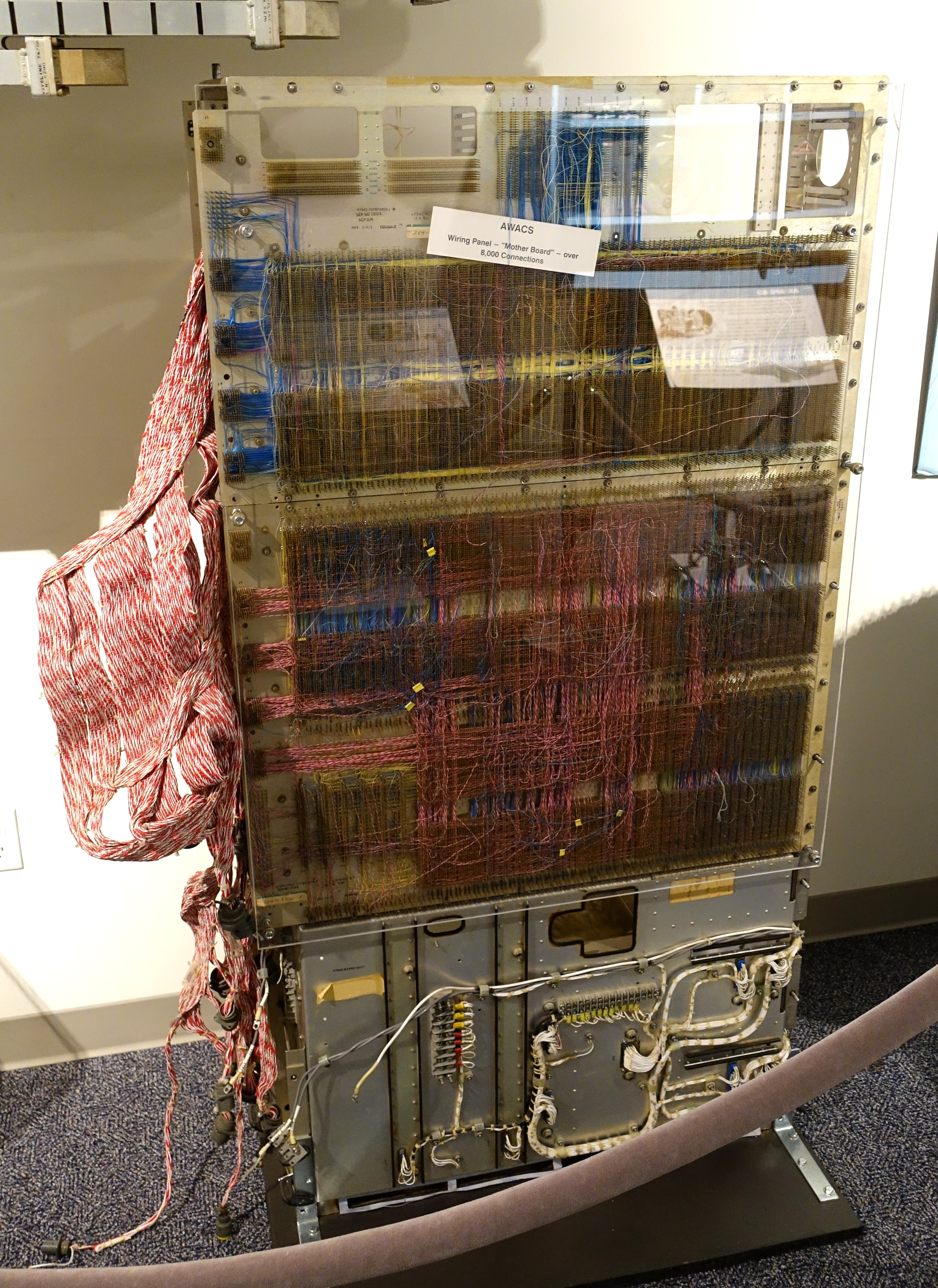 Fileawacs Wiring Panel Mother Board National Electronics Museum Dsc00405