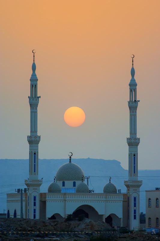 مسجدی واقع در جزیرهٔ قشم