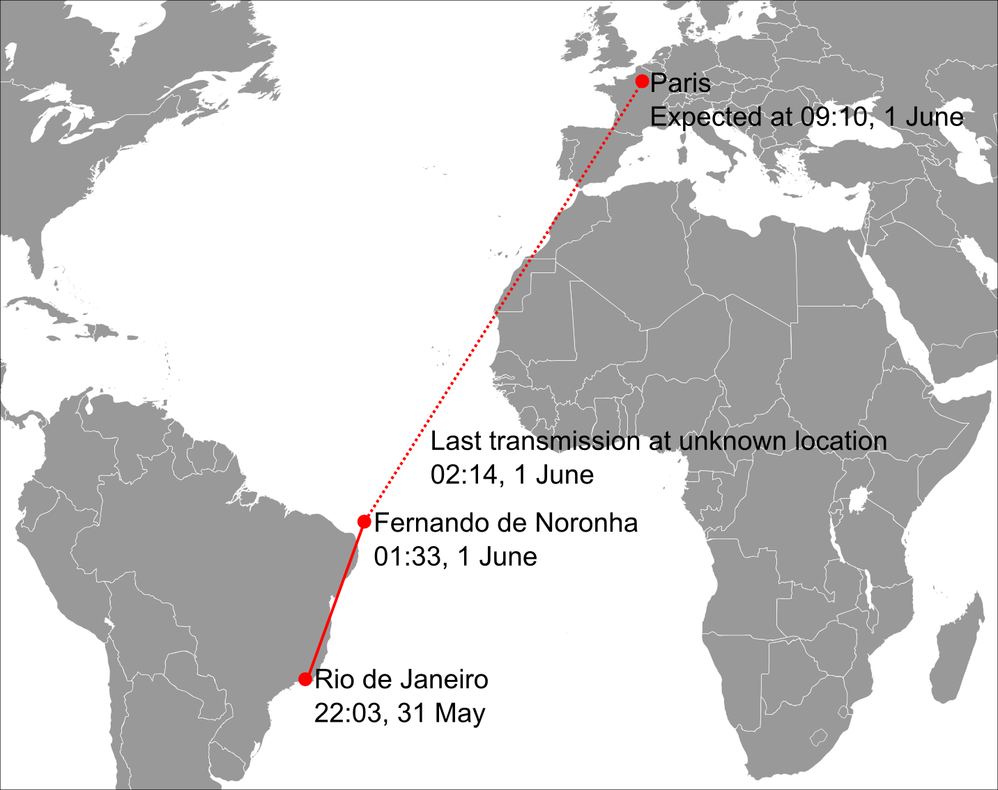File:Air France Flight 447 path.png - Wikimedia Commons