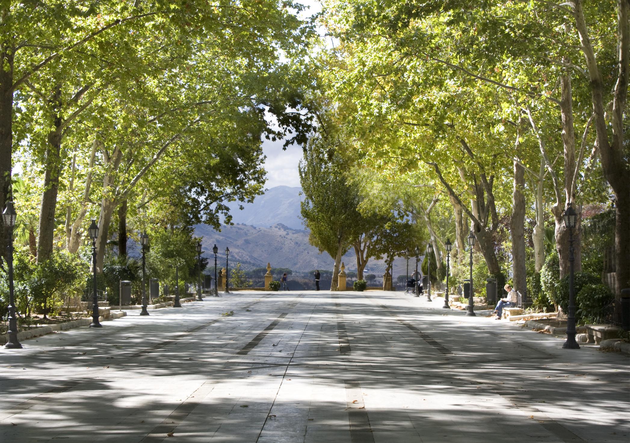 File alameda del wikimedia commons for Jardin umbrio valle inclan
