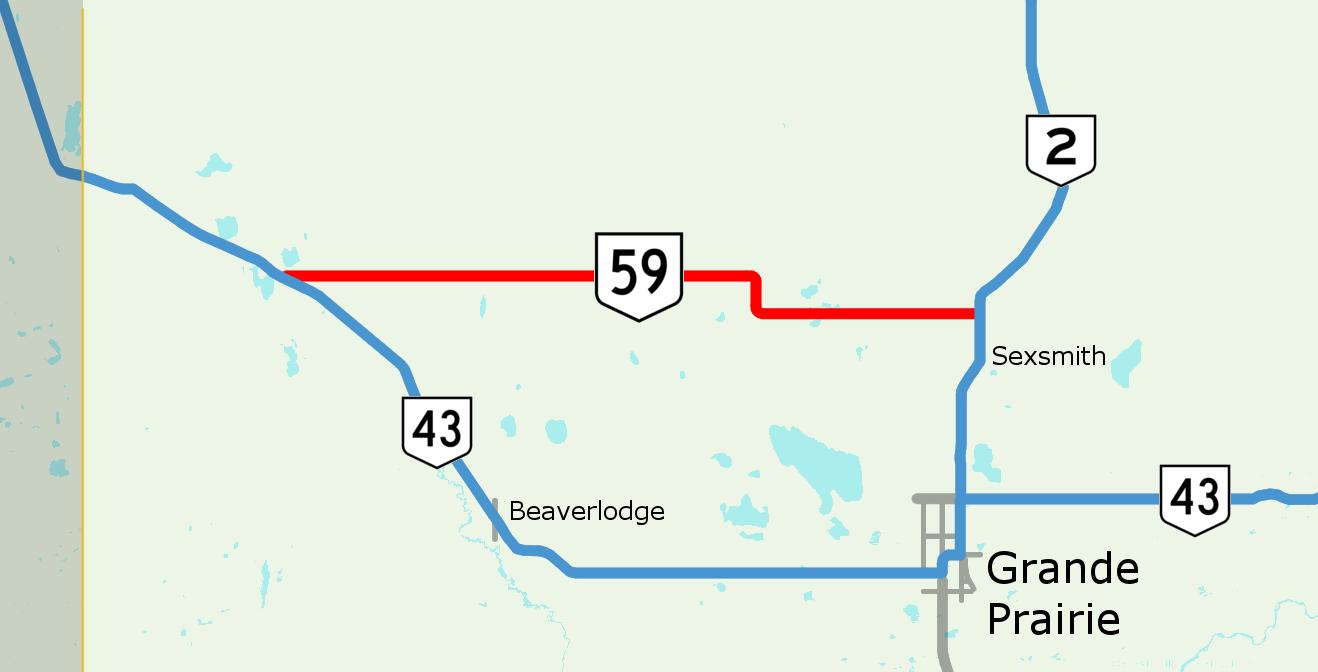 Alberta Highway 59 Wikiwand