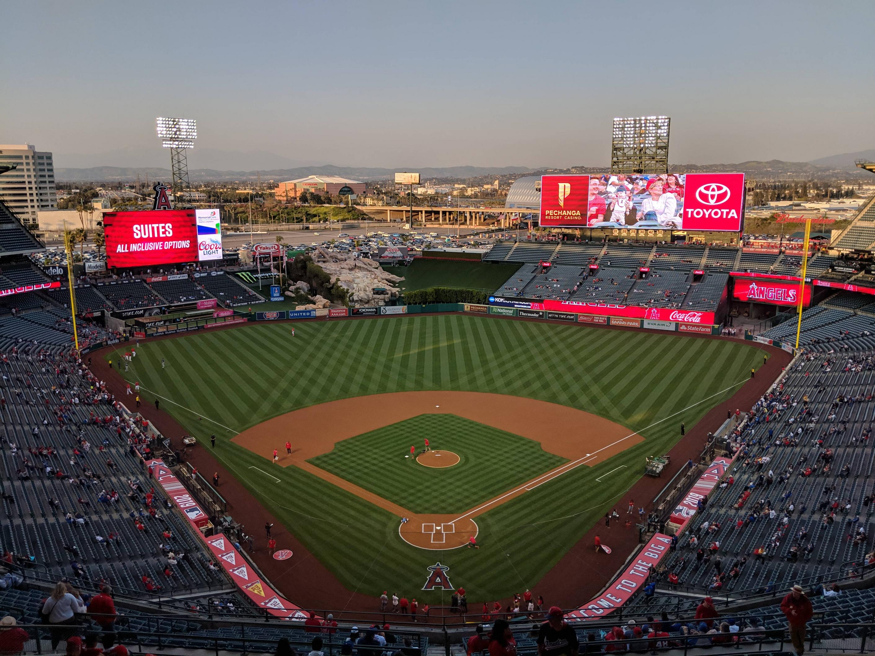 look for san francisco for whole family Angel Stadium - Wikipedia