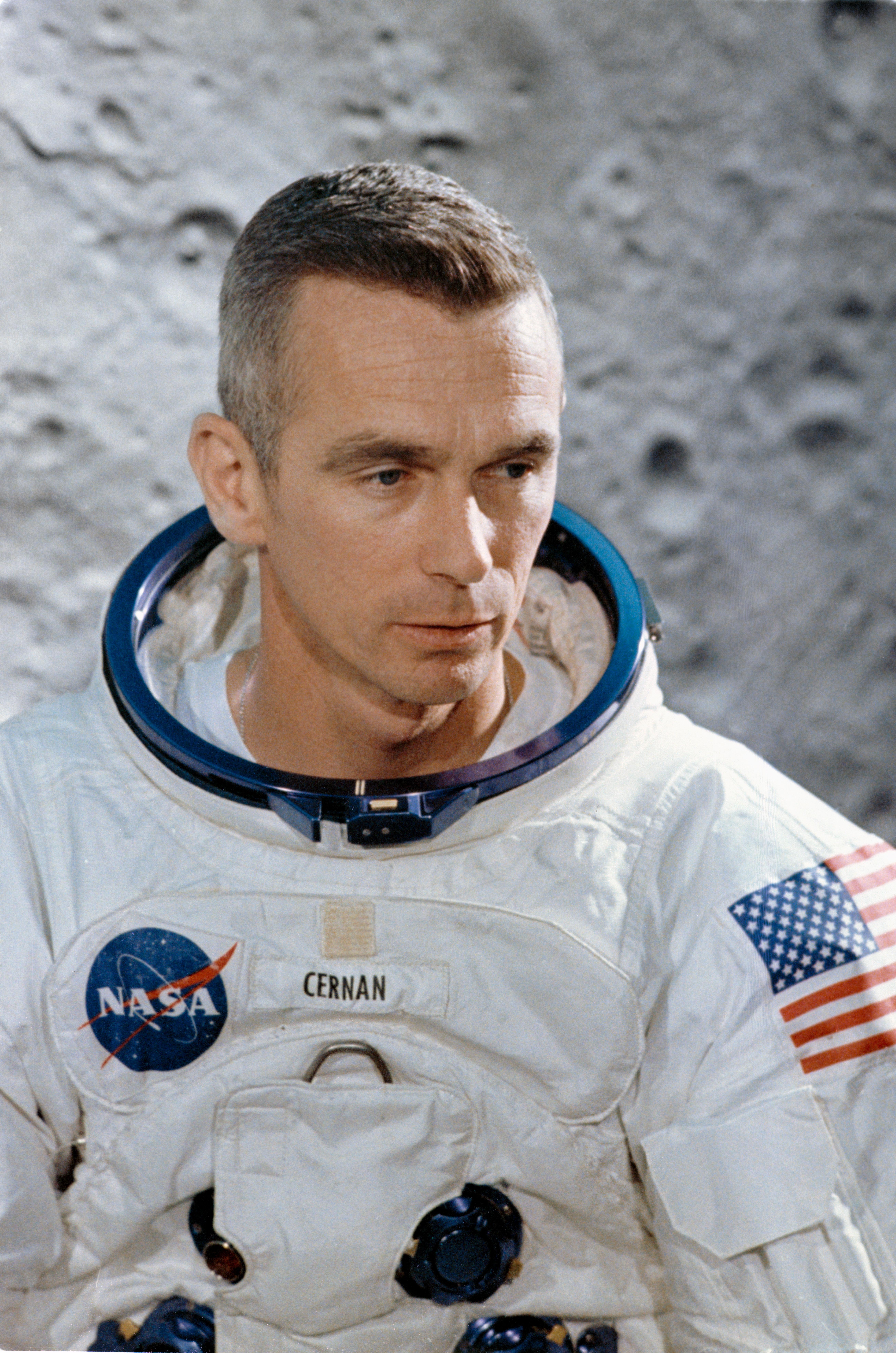 File:Astronaut Eugene A  Cernan, prime crew lunar module