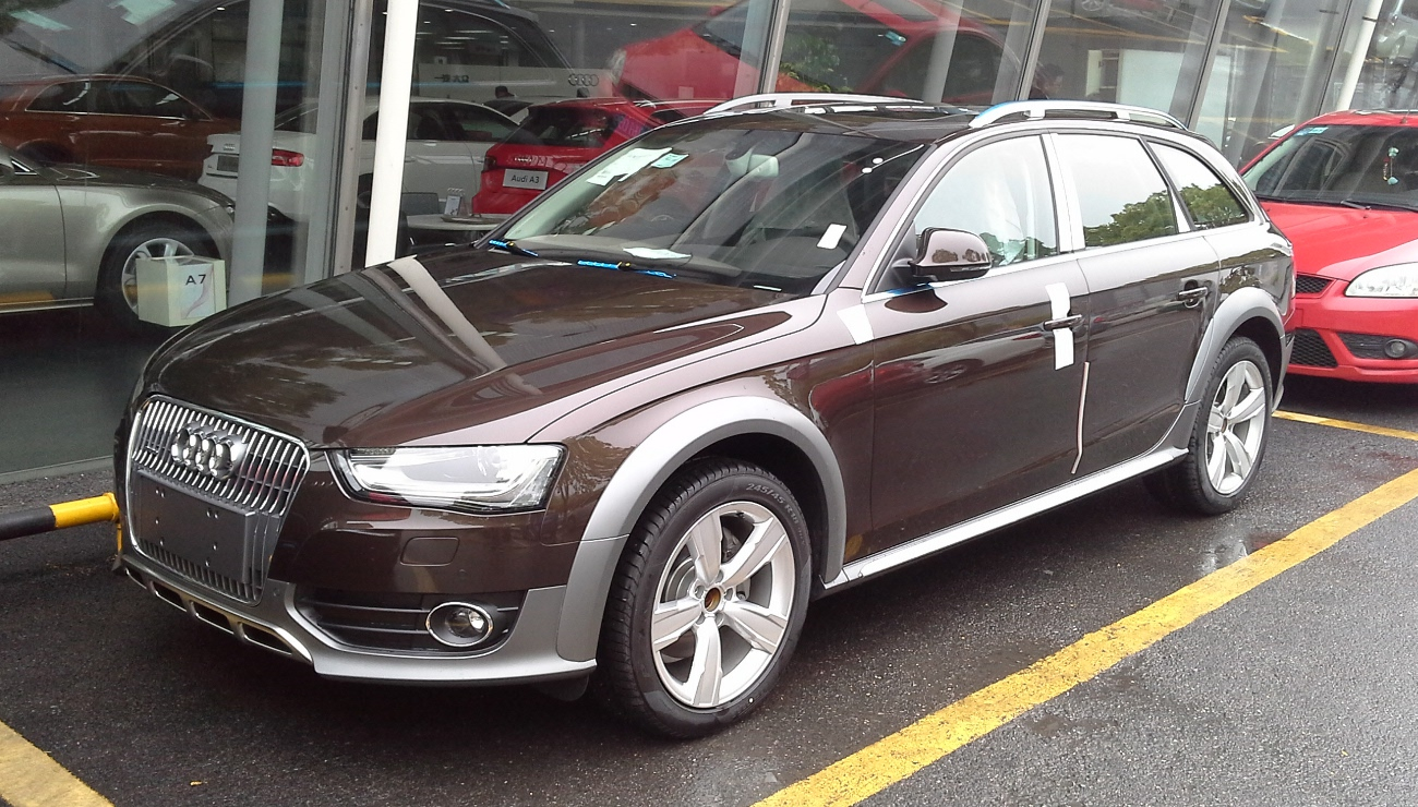 File Audi A4 B8 Allroad Facelift China 2014 04 22 Jpg