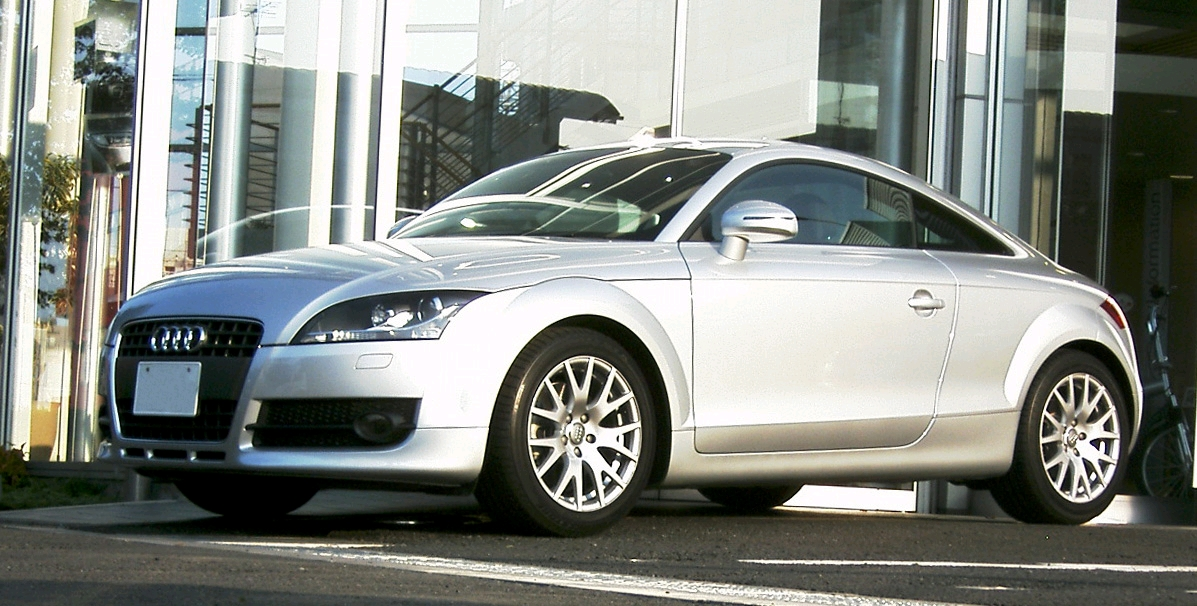 Audi Tt Coupe. File:Audi TT Coupe a.jpg
