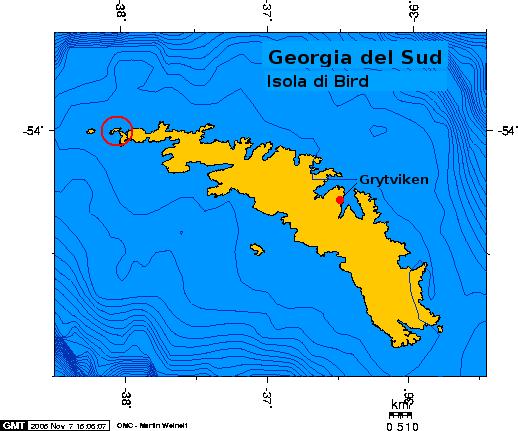 Isola di bird georgia del sud wikipedia for Casa di piantagioni del sud