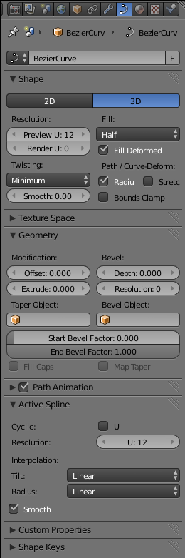 blender 3d  noob to pro  intro to b u00e9zier curves