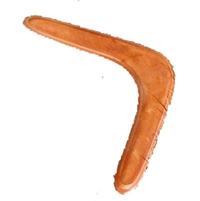 Boomerang masked