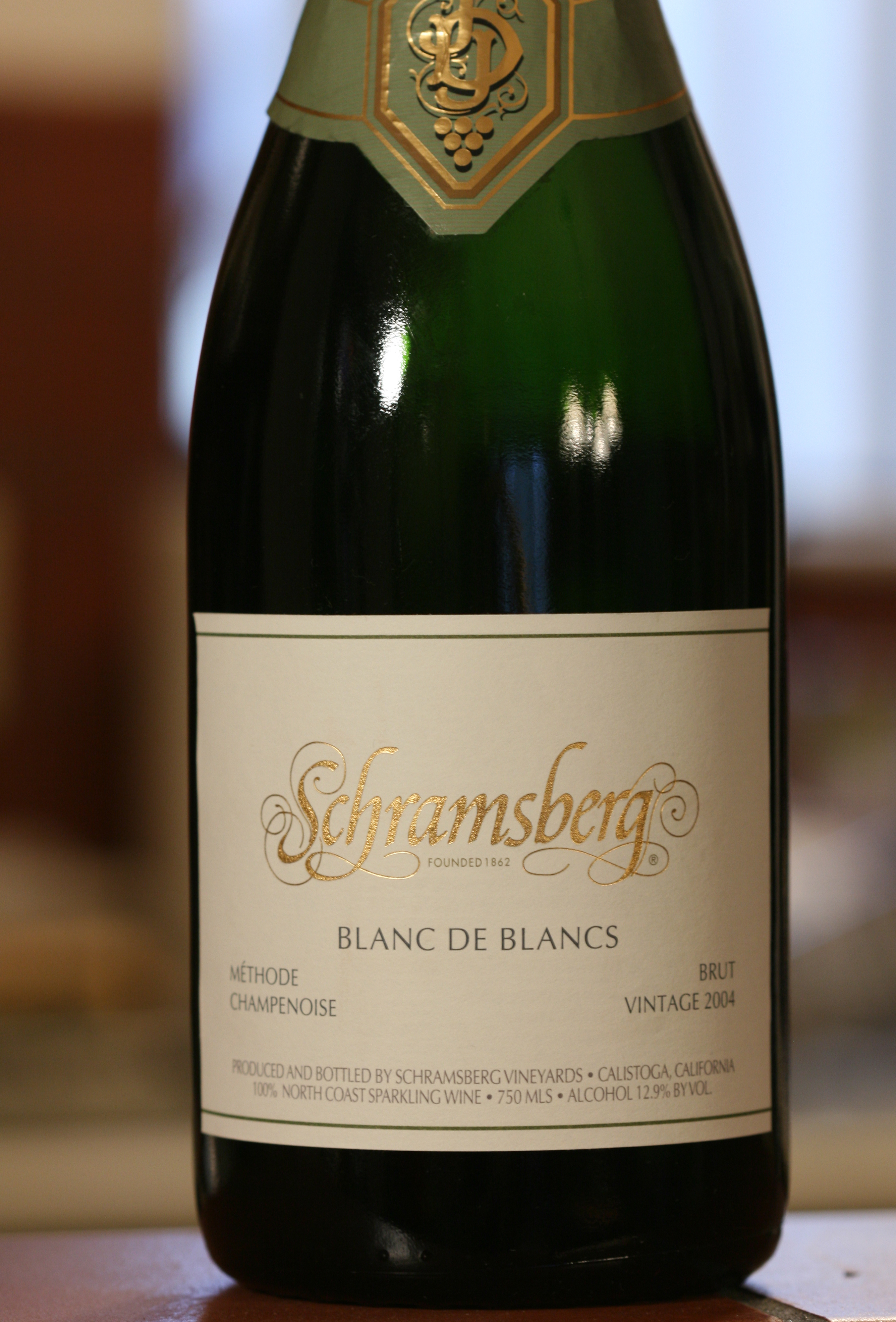 Blanc de Blancs Sparkling Wine de Blancs Sparkling Wine