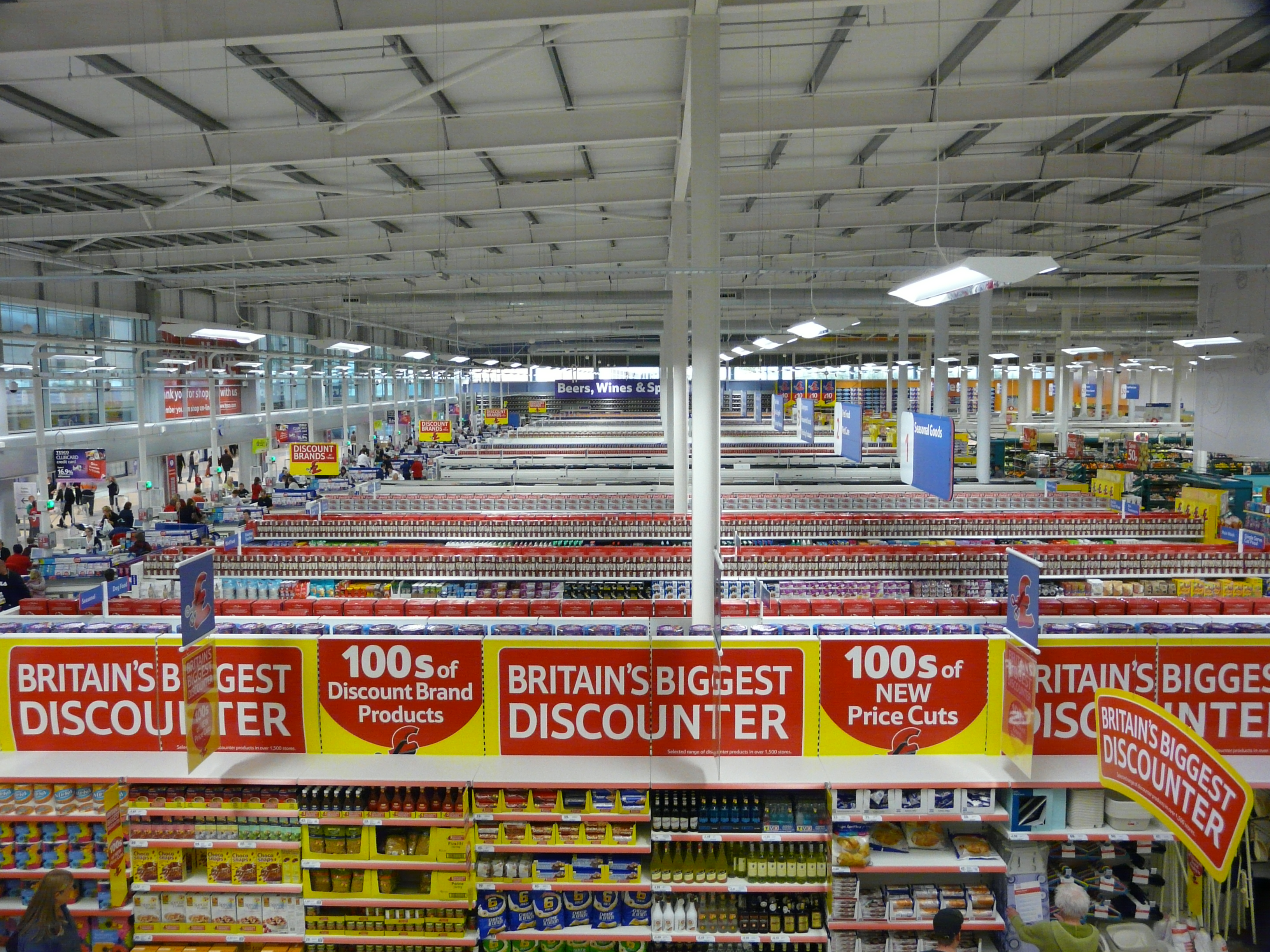 Tesco Food And Drink Shopping
