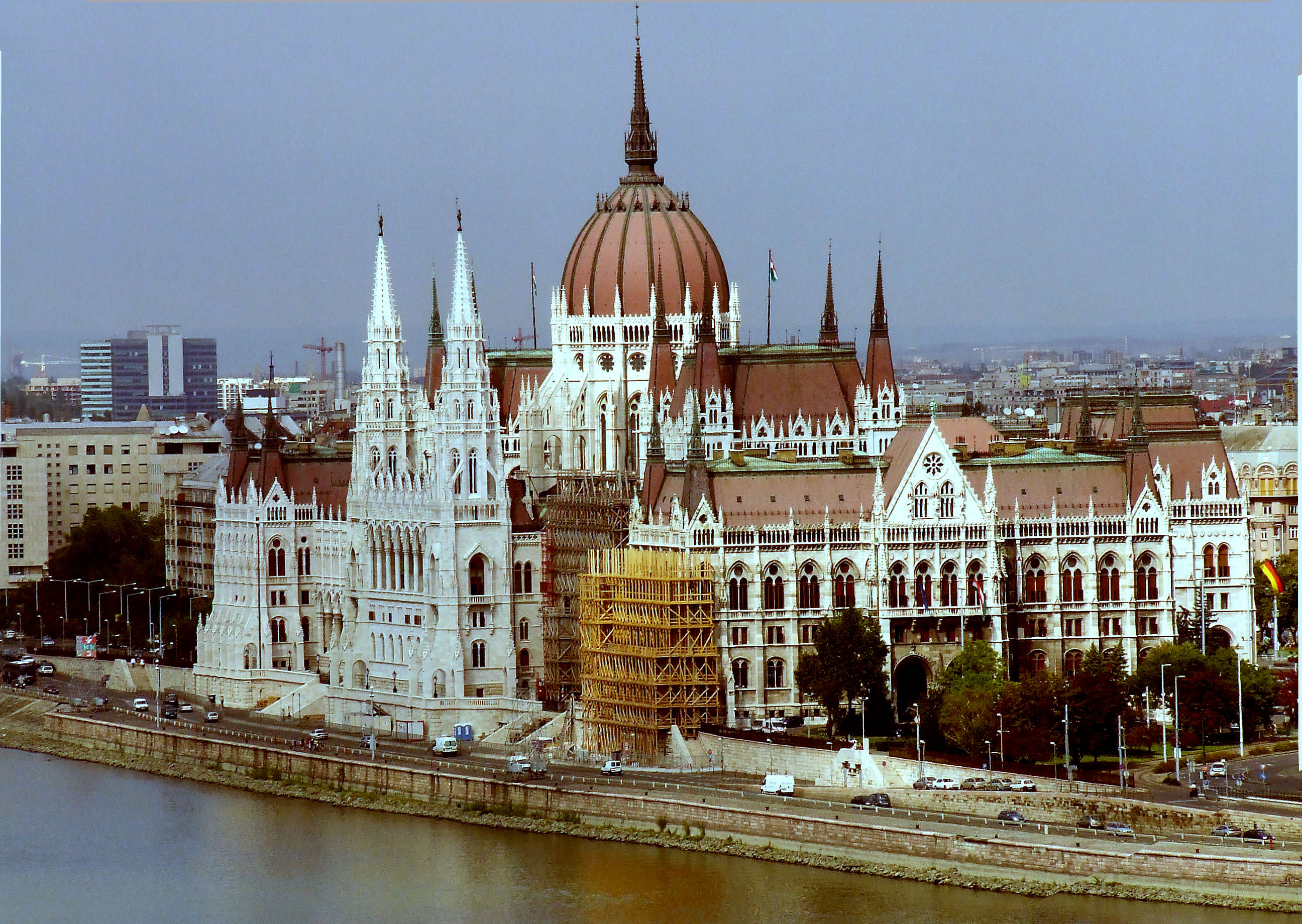 File Budapest Parlament From Castle Jpg Wikimedia Commons