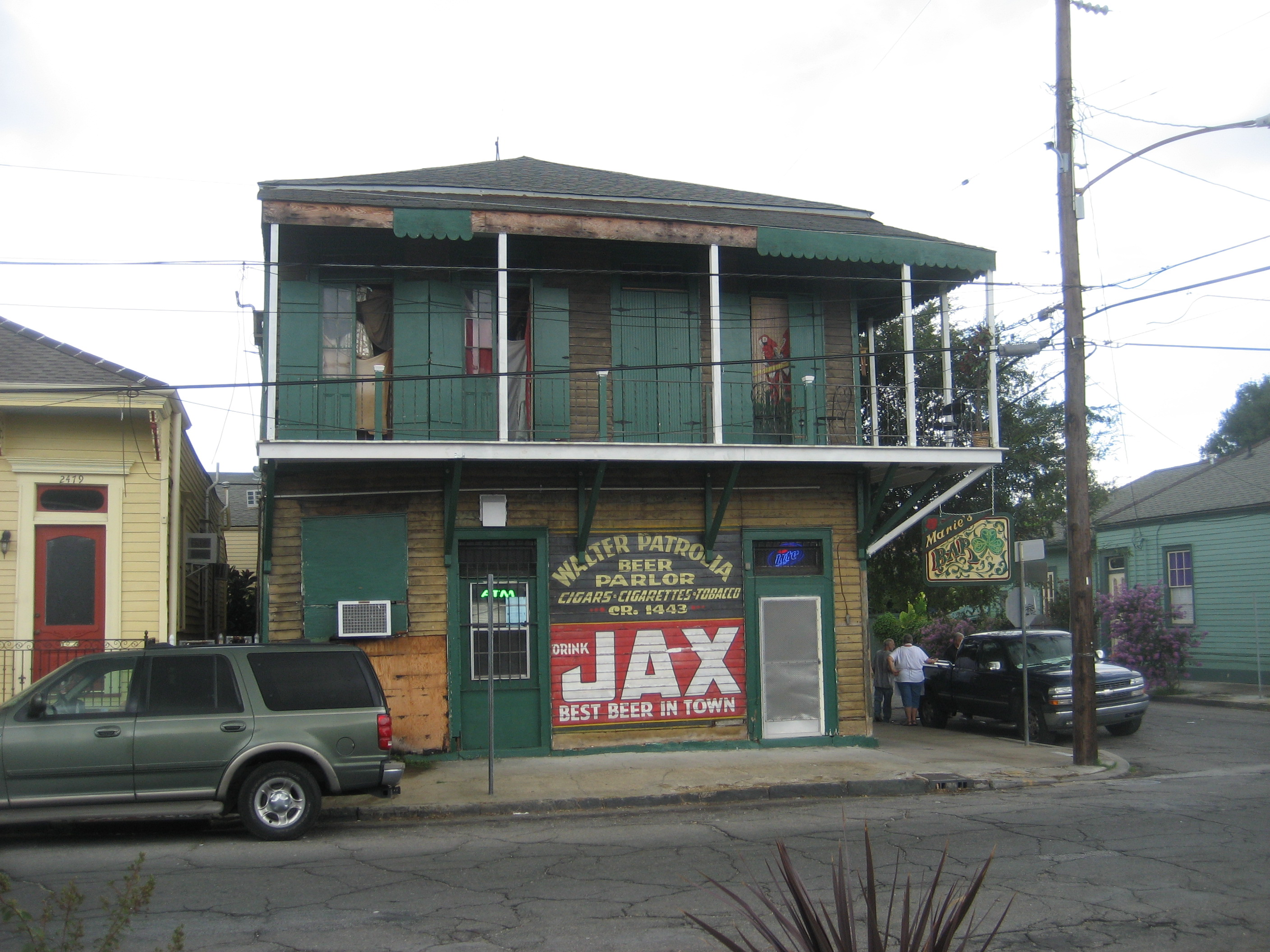 New Orleans Faubourg Marigny Travel Guide At Wikivoyage