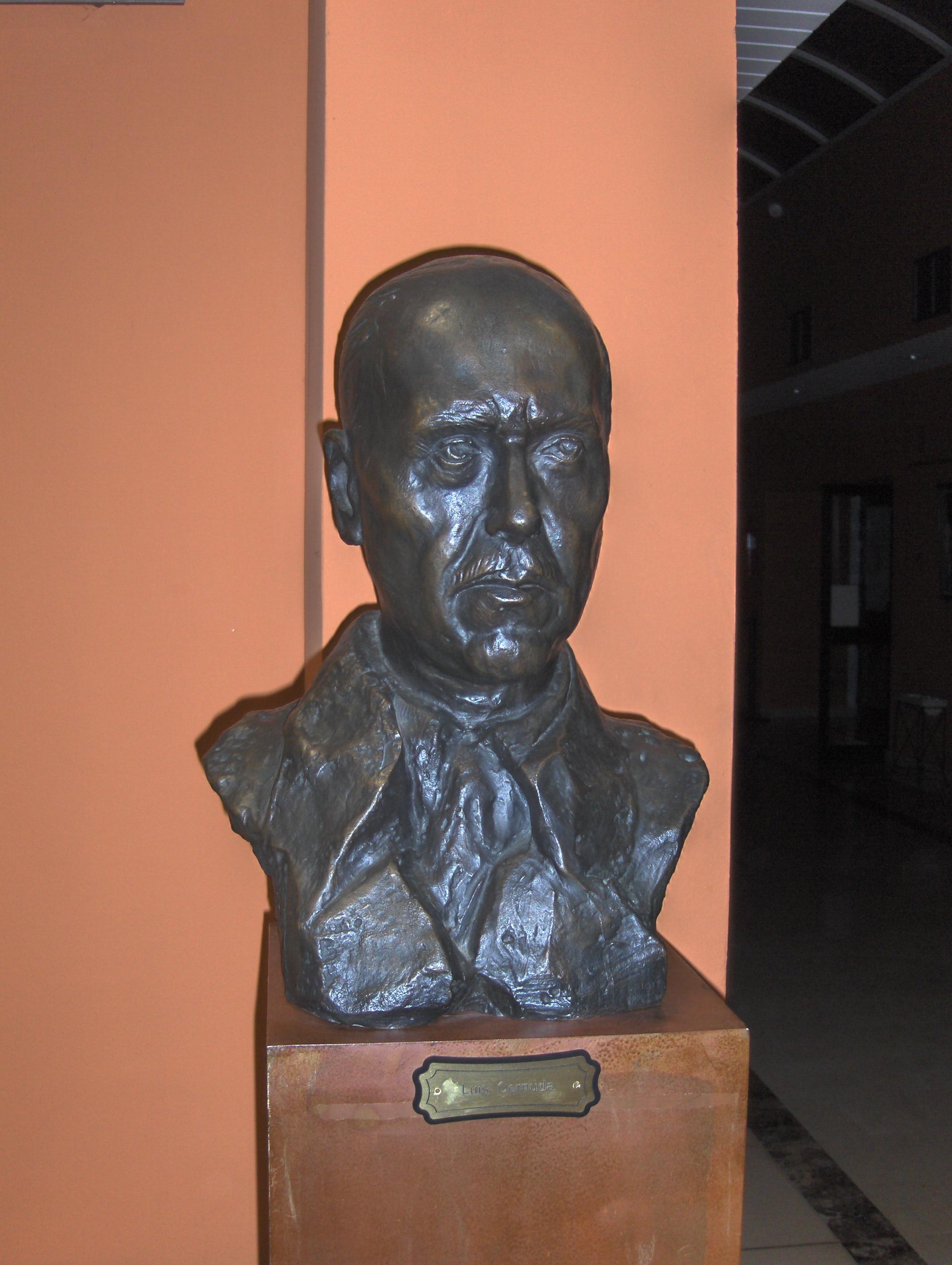 Depiction of Luis Cernuda
