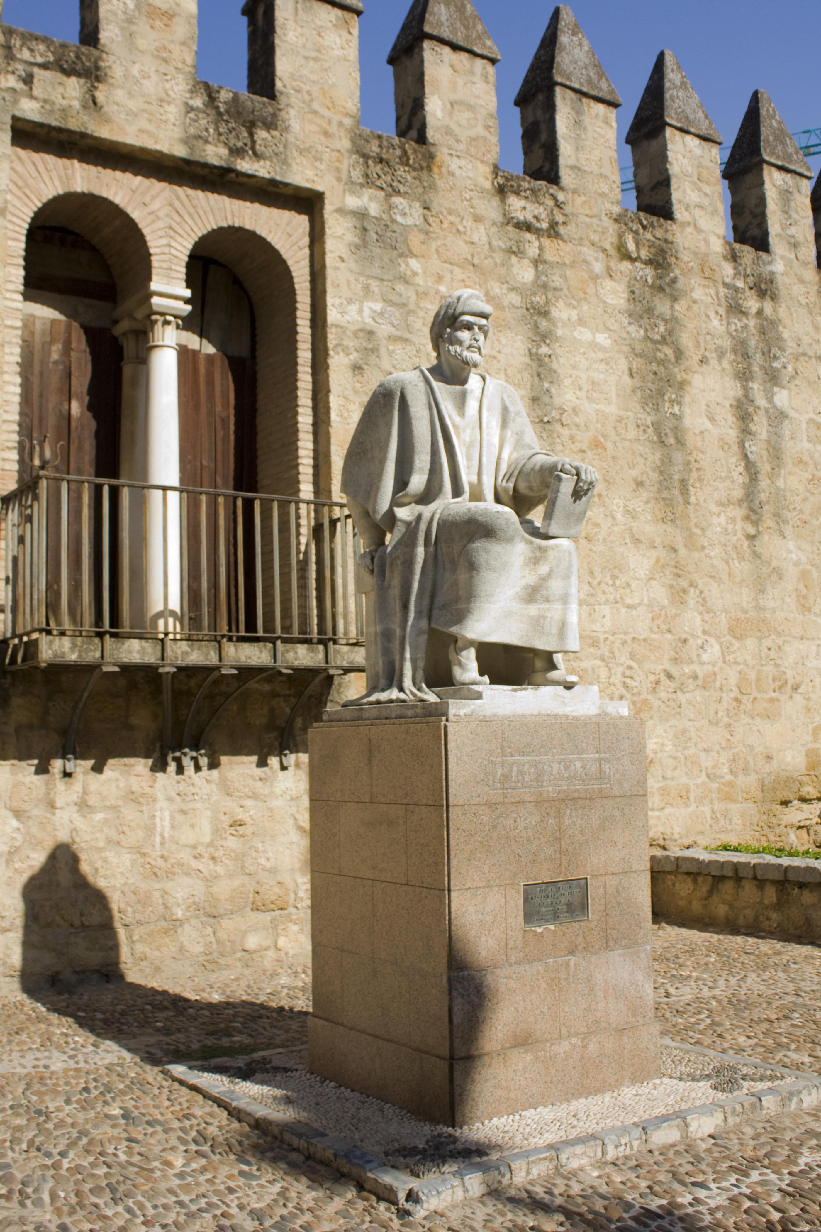 Картинки по запросу averroes statue cordoba