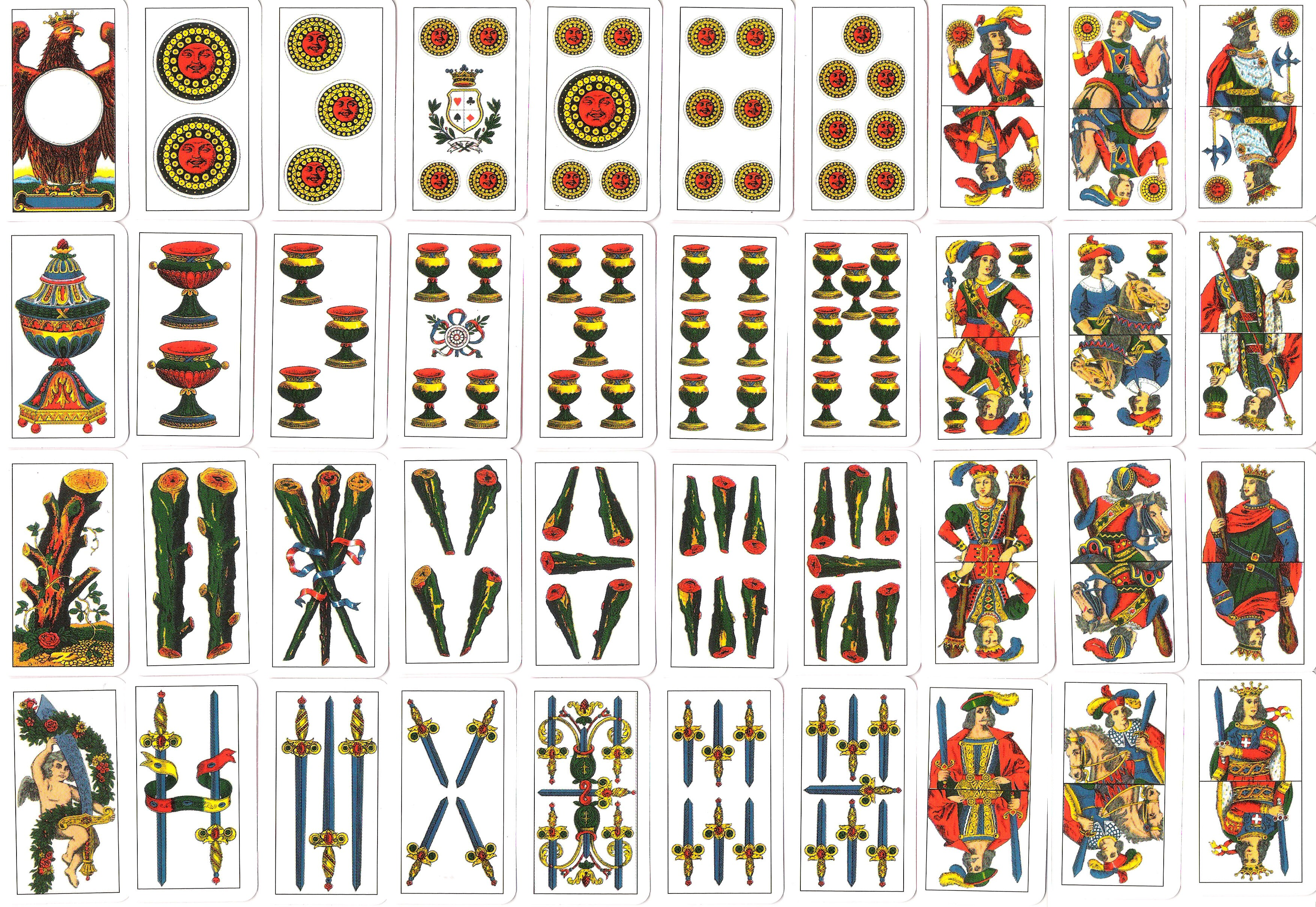 The oldest full deck of playing cards known gaming for Design del mazzo online