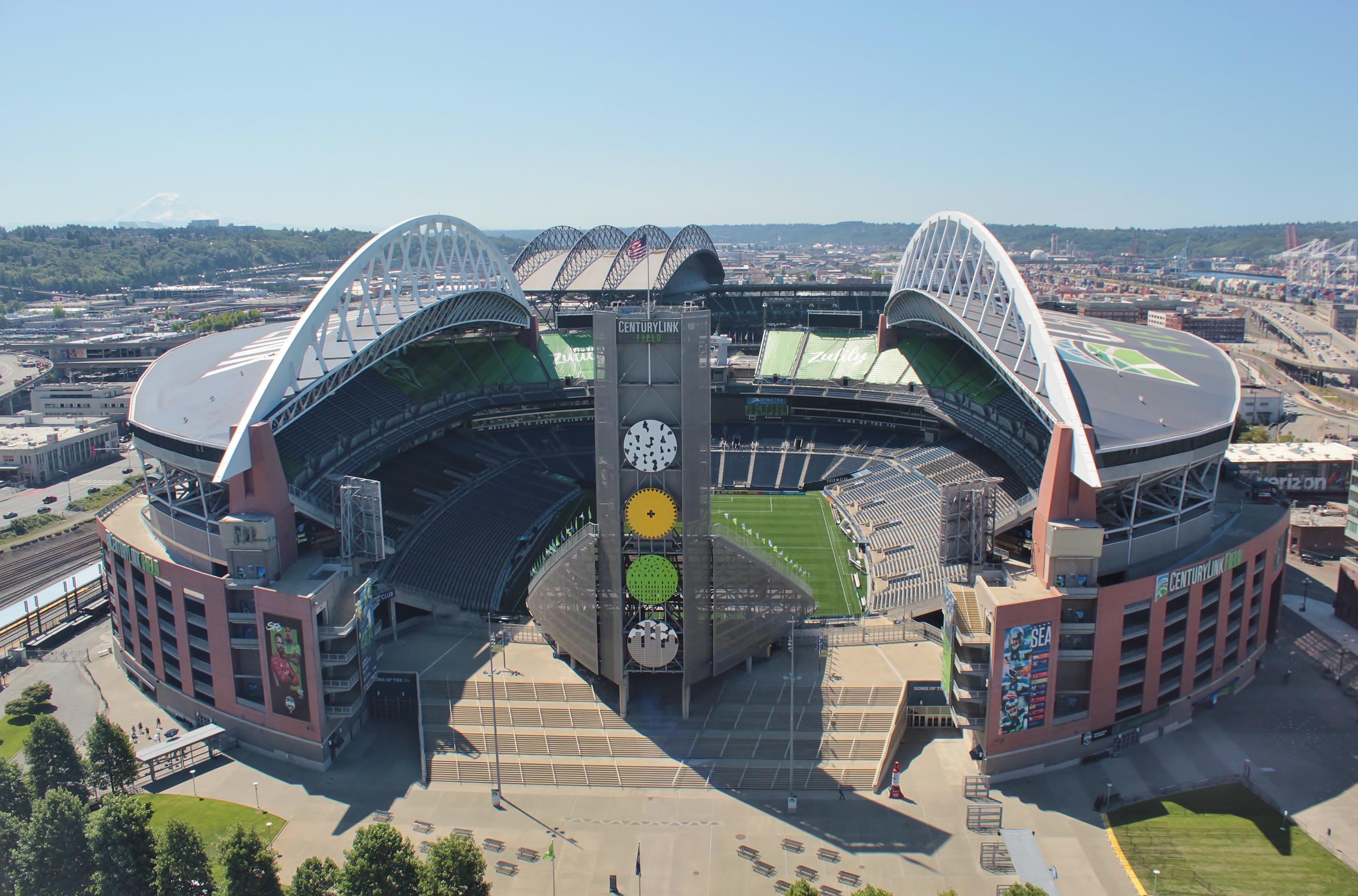 CenturyLink Field in soccer configuration from Stadium Place.jpg