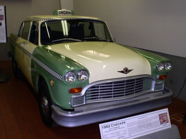 Checker A-11 Taxicab 1982