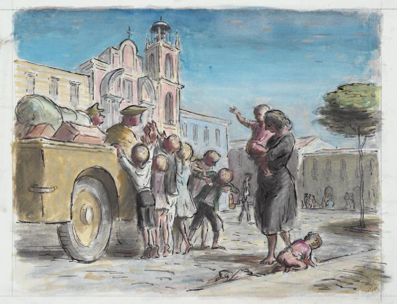 File Children Begging For Biscuits In Canosa Di Apuglia