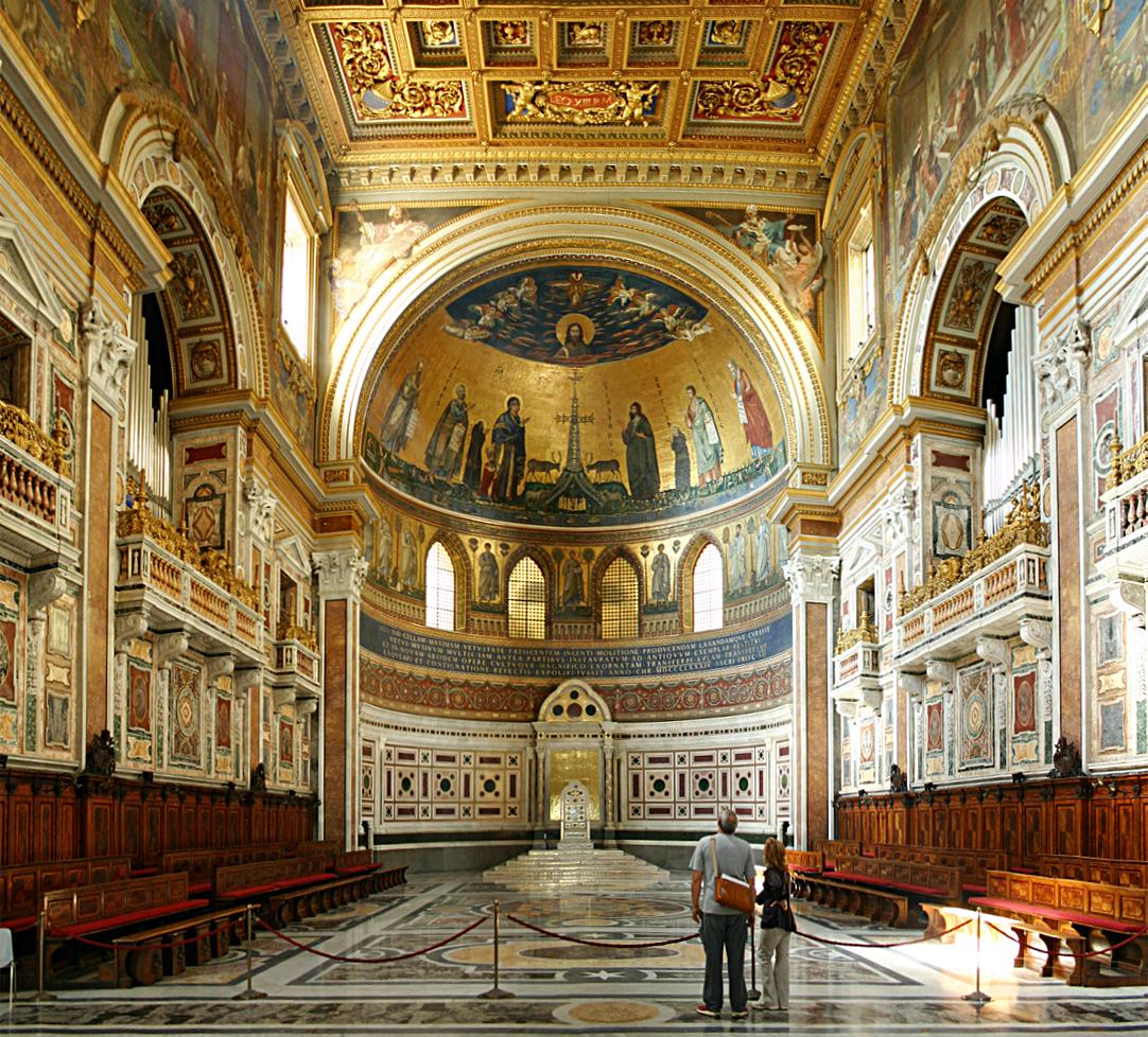"""Собор """"Святого Иоанна Латеранского в Риме."""