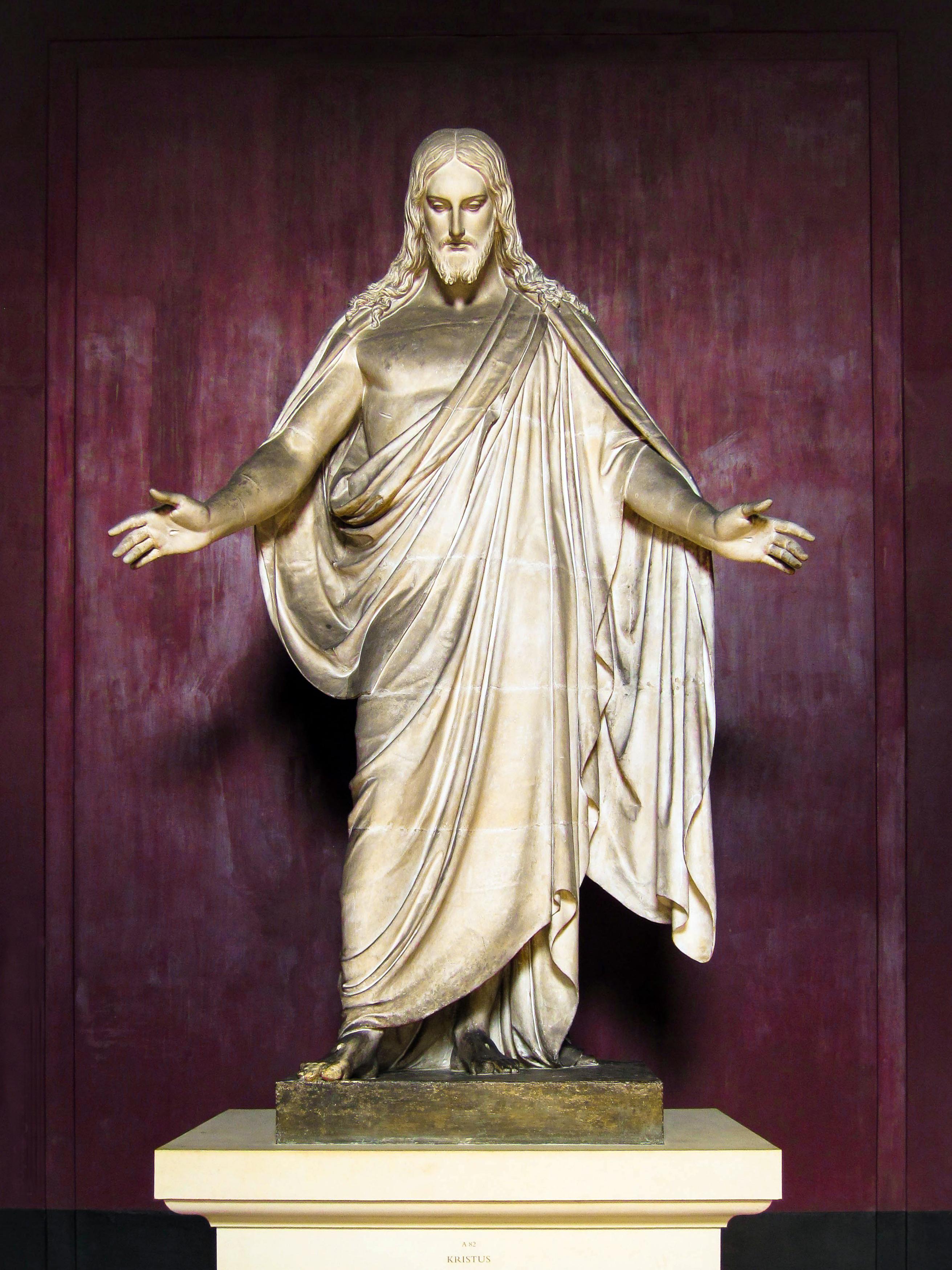 File:Christus (Draft) by Thorvaldsen jpg - Wikimedia Commons
