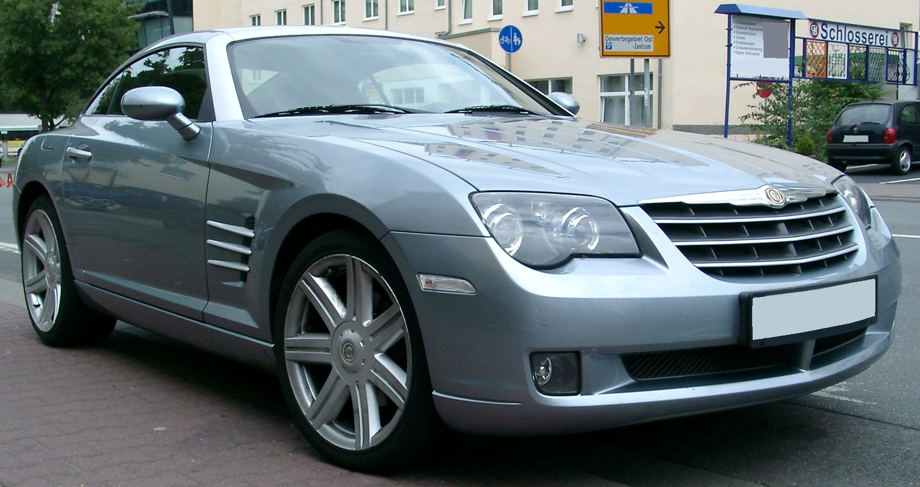 File Chrysler Crossfire Front 20070831 Jpg Wikimedia Commons