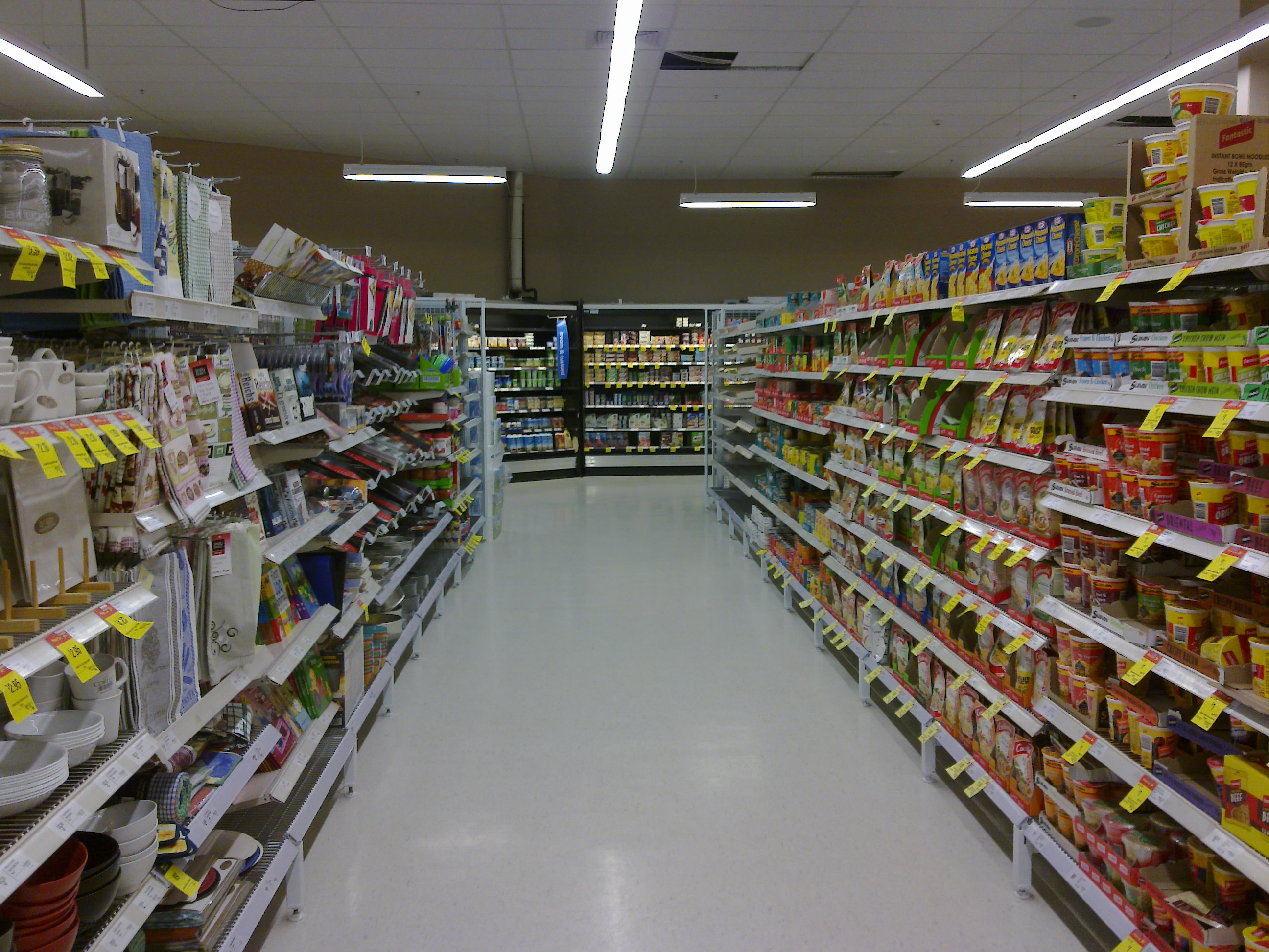 File Coles South City Aisle Jpg Wikipedia