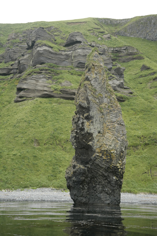 Description Of Basalt : File columnar basalt rock stone g wikimedia commons