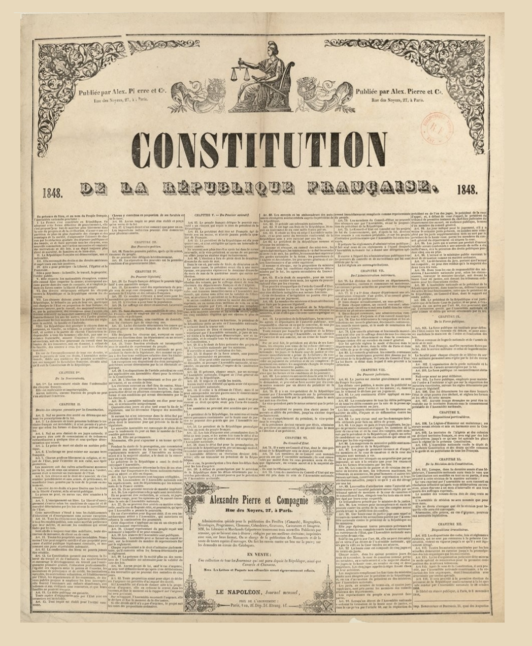 the implementation of the bill of rights in france and the united states The united states has a federal system of government where the states and  an example of a unitary system is france  a part of the bill of rights passed.