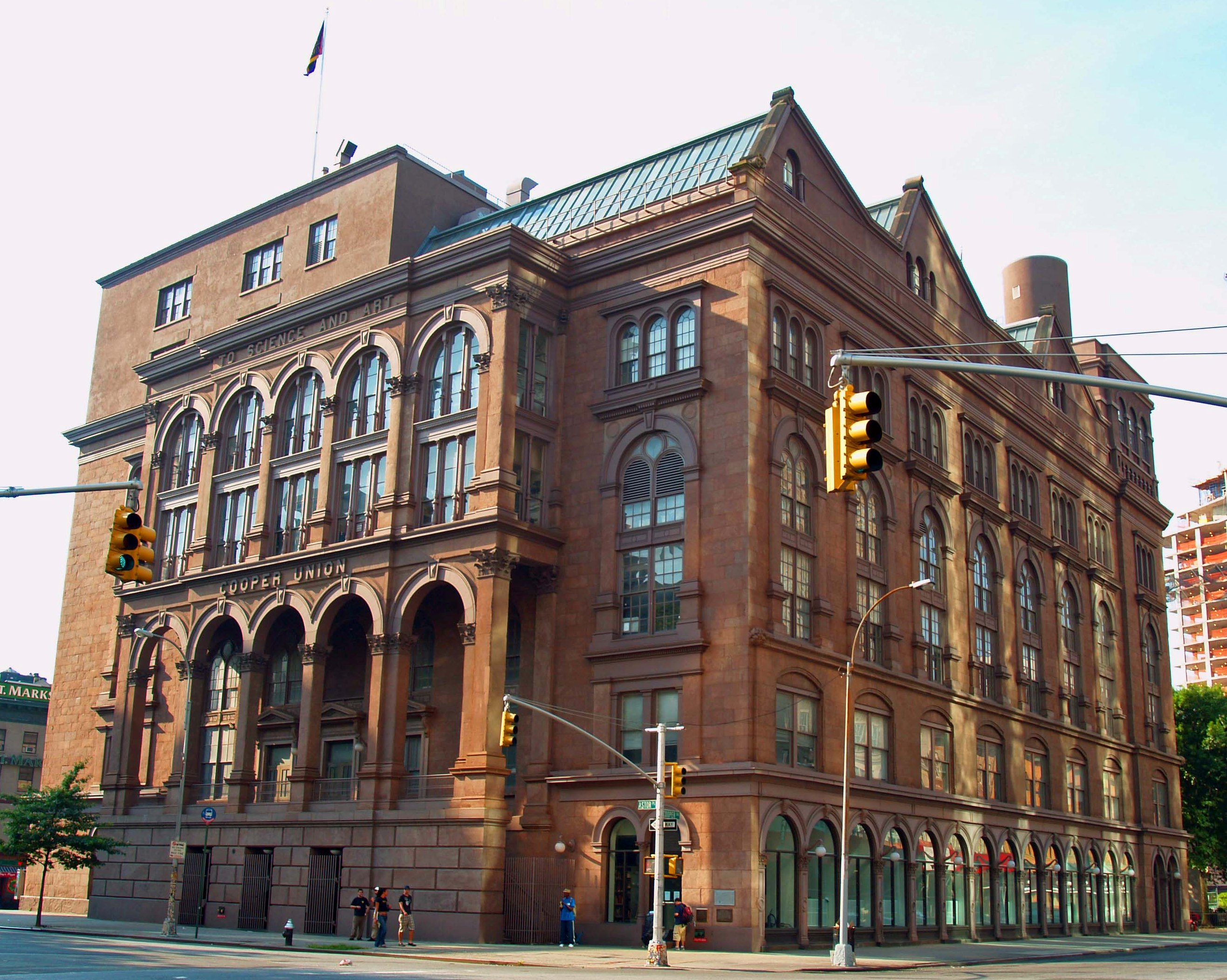 Image result for cooper union foundation building