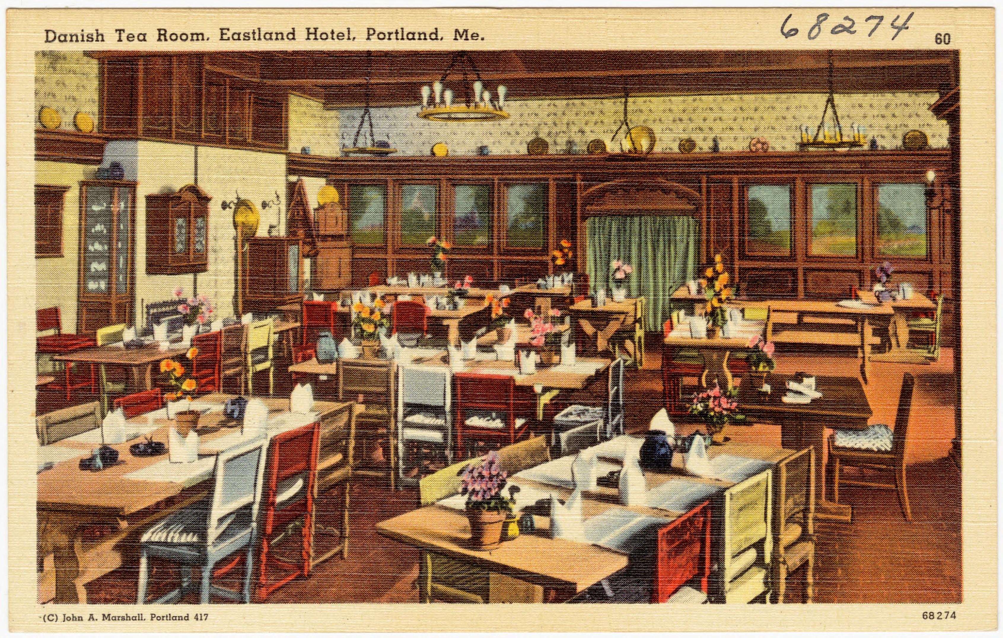 File:Danish Tea Room, Eastland Hotel, Portland, Me (68274).jpg ...