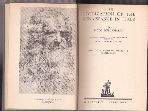 an analysis of the civilization of the renaissance in italy The civilization of the renaissance in italy (german: die kultur der renaissance in italien) is an 1860 work on the italian renaissance by swiss historian jacob burckhardt together with his history of the renaissance in italy ( die geschichte der renaissance in italien  1867) it is counted among the classics of renaissance historiography.