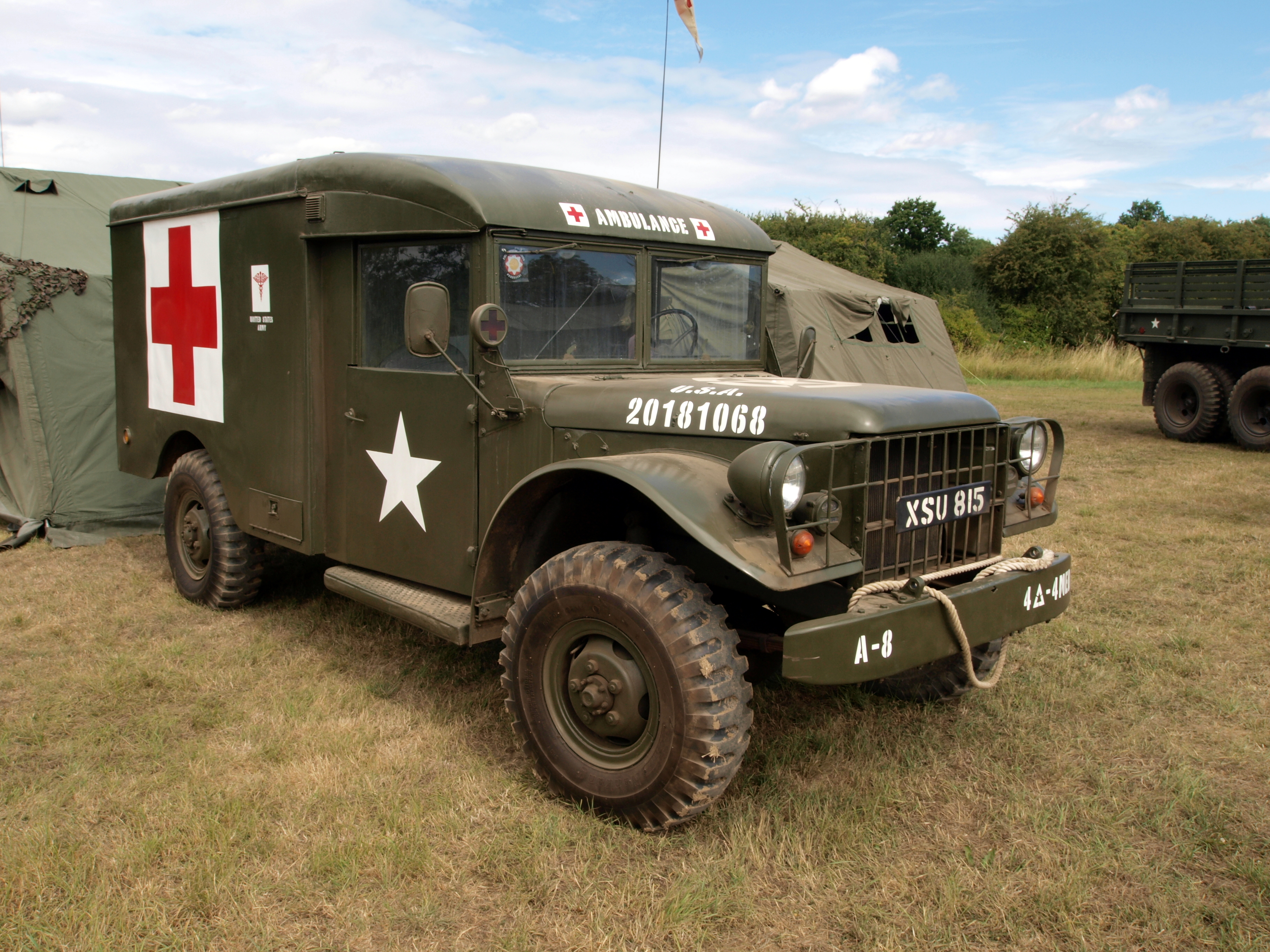 Number3122 as well  furthermore M 43 Dodge Ambulance For Sale together with Canadian Military Pattern truck likewise The 20 Fastest Longest Weirdest Station Wagons You Need To Know About. on ww2 dodge power wagon