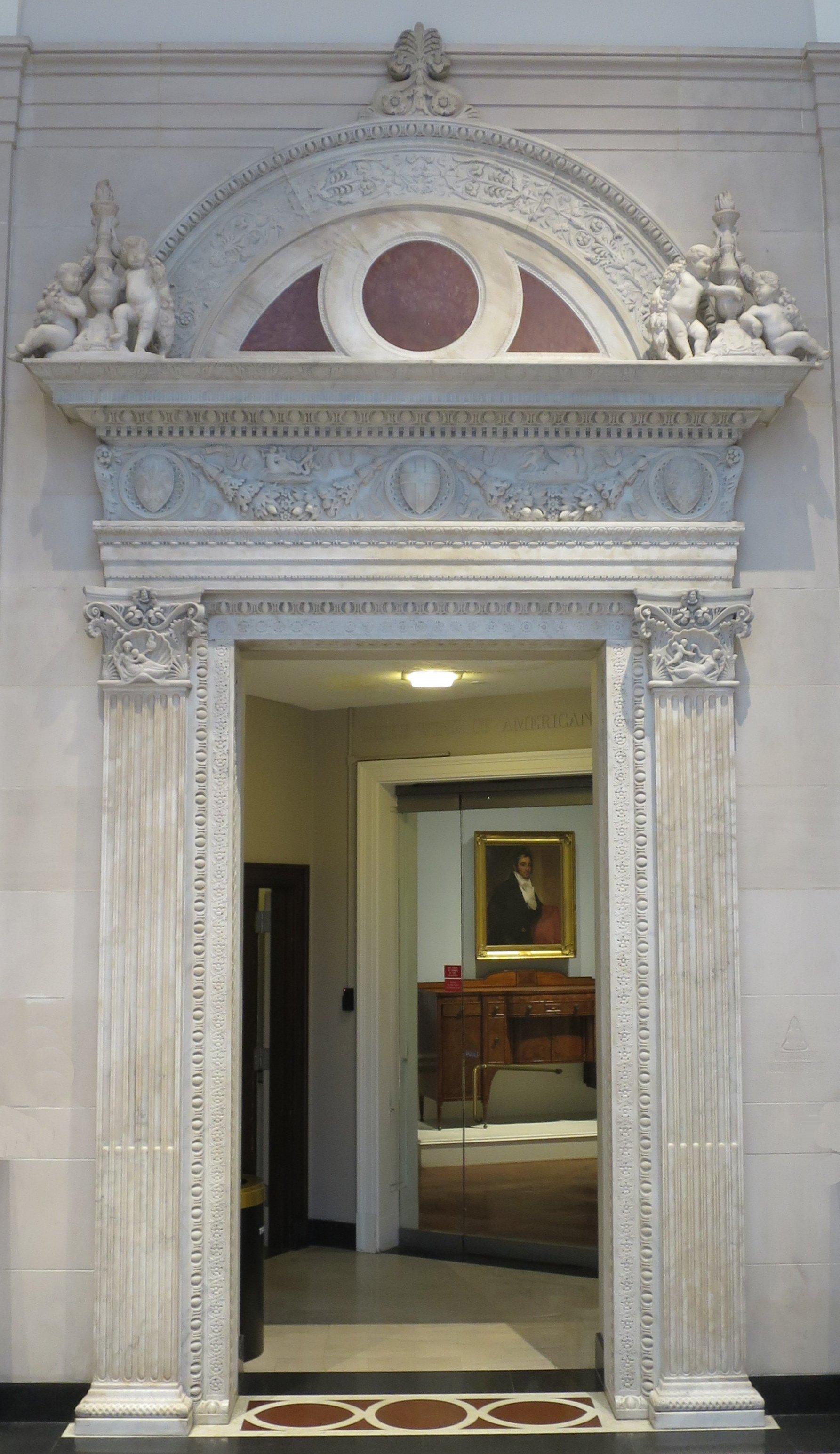 File:Door frame by Brainerd B. Thresher, c. 1930, Dayton Art ...