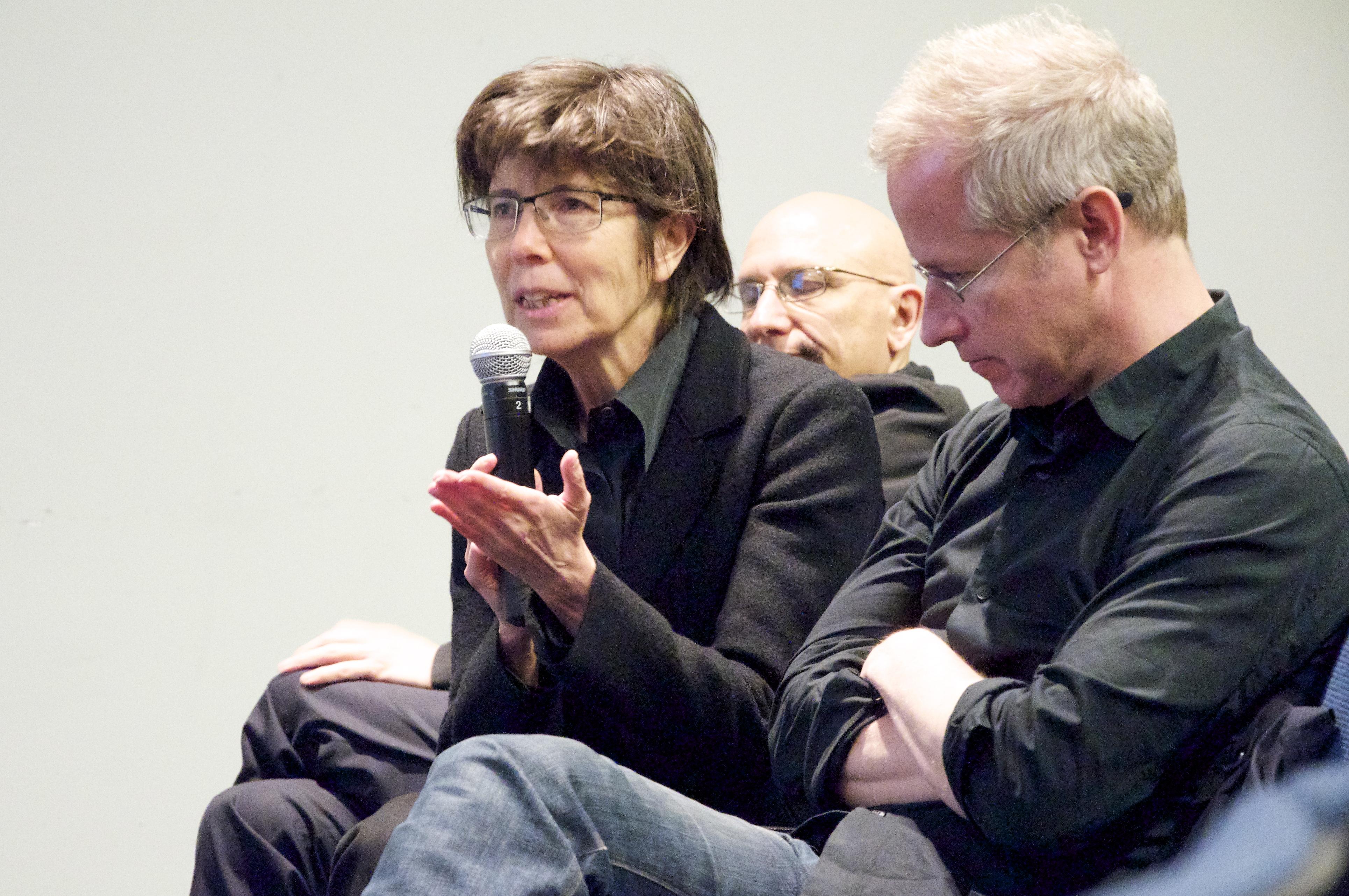 Elizabeth Diller (left), ''Diller Scofidio + Renfro: Architecture After Images'' book launch
