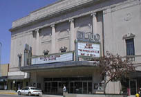 The front of the Lerner Theater, then named the ELCO, in downtown Elkhart.