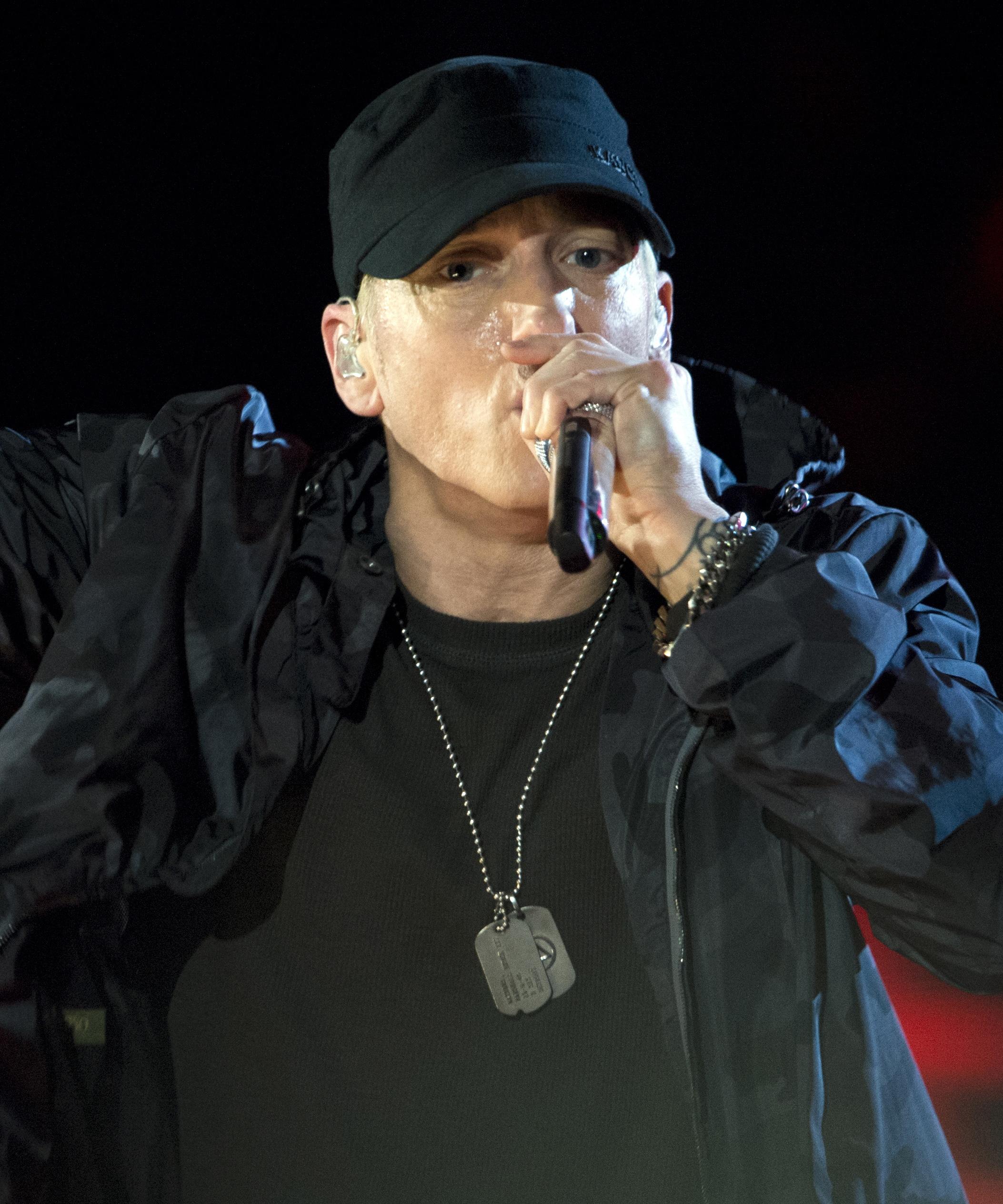 Eminem Ikä
