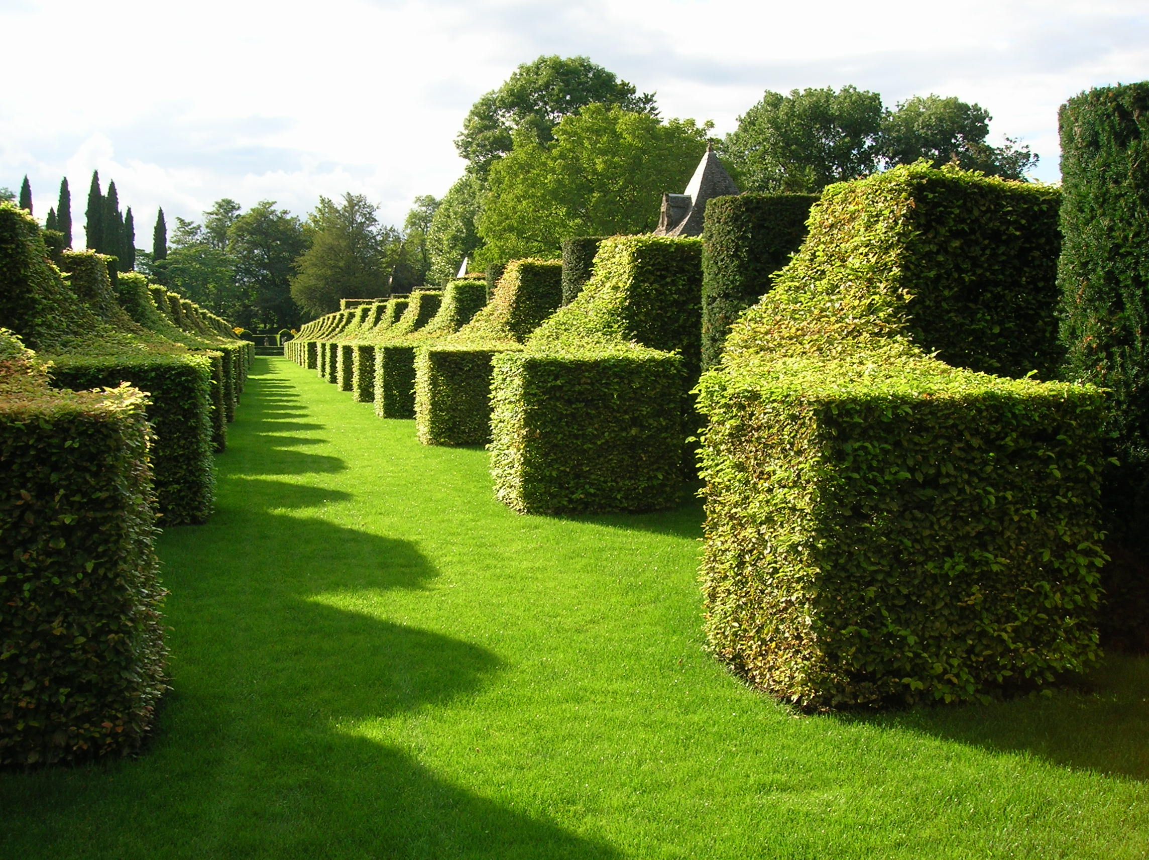 english garden maze design pdf