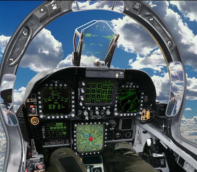 F 18 Cockpit File:F-18E cock...