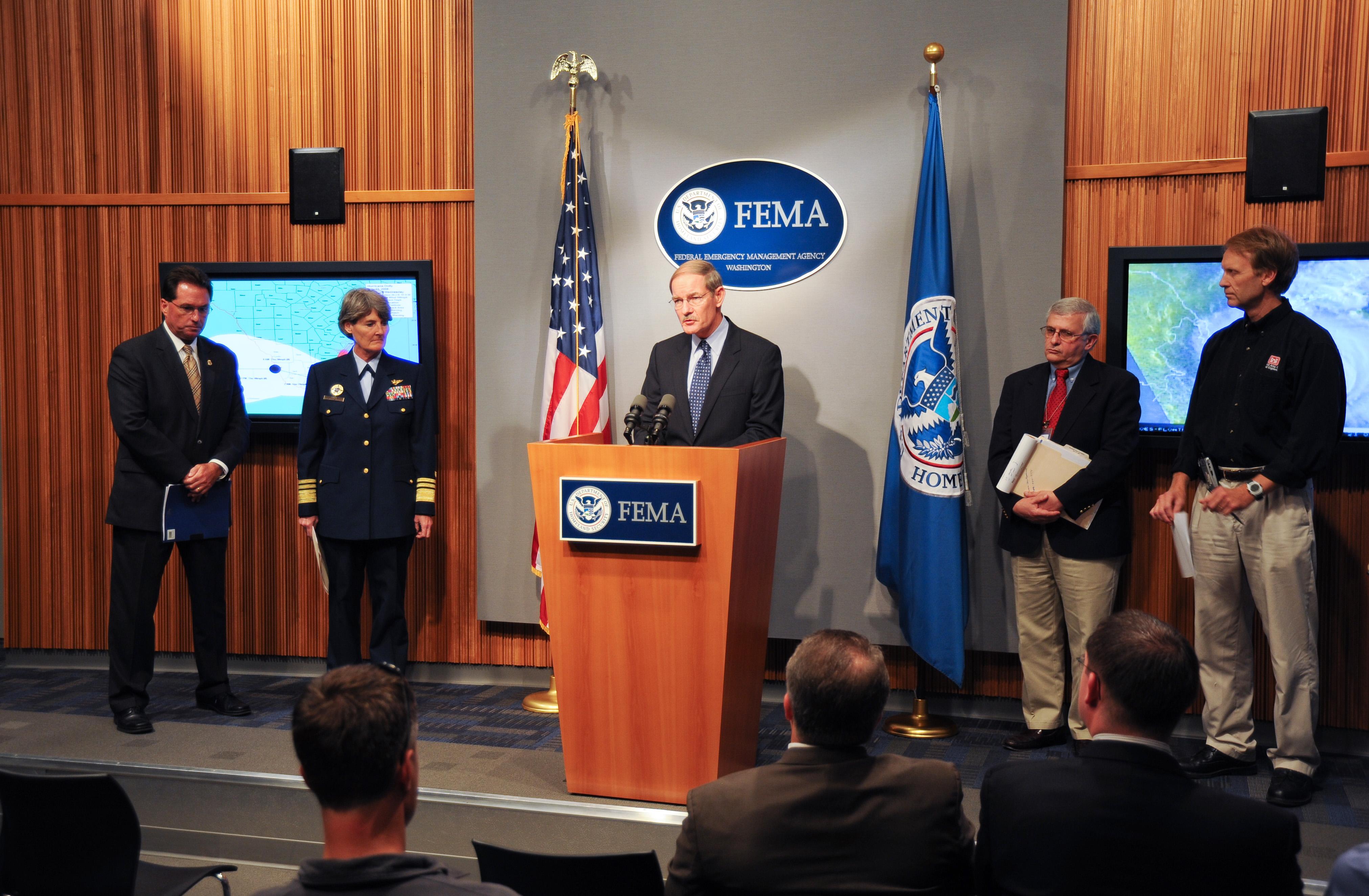 File:FEMA - 37188 - Hurricane Dolly Press Briefing at FEMA ...