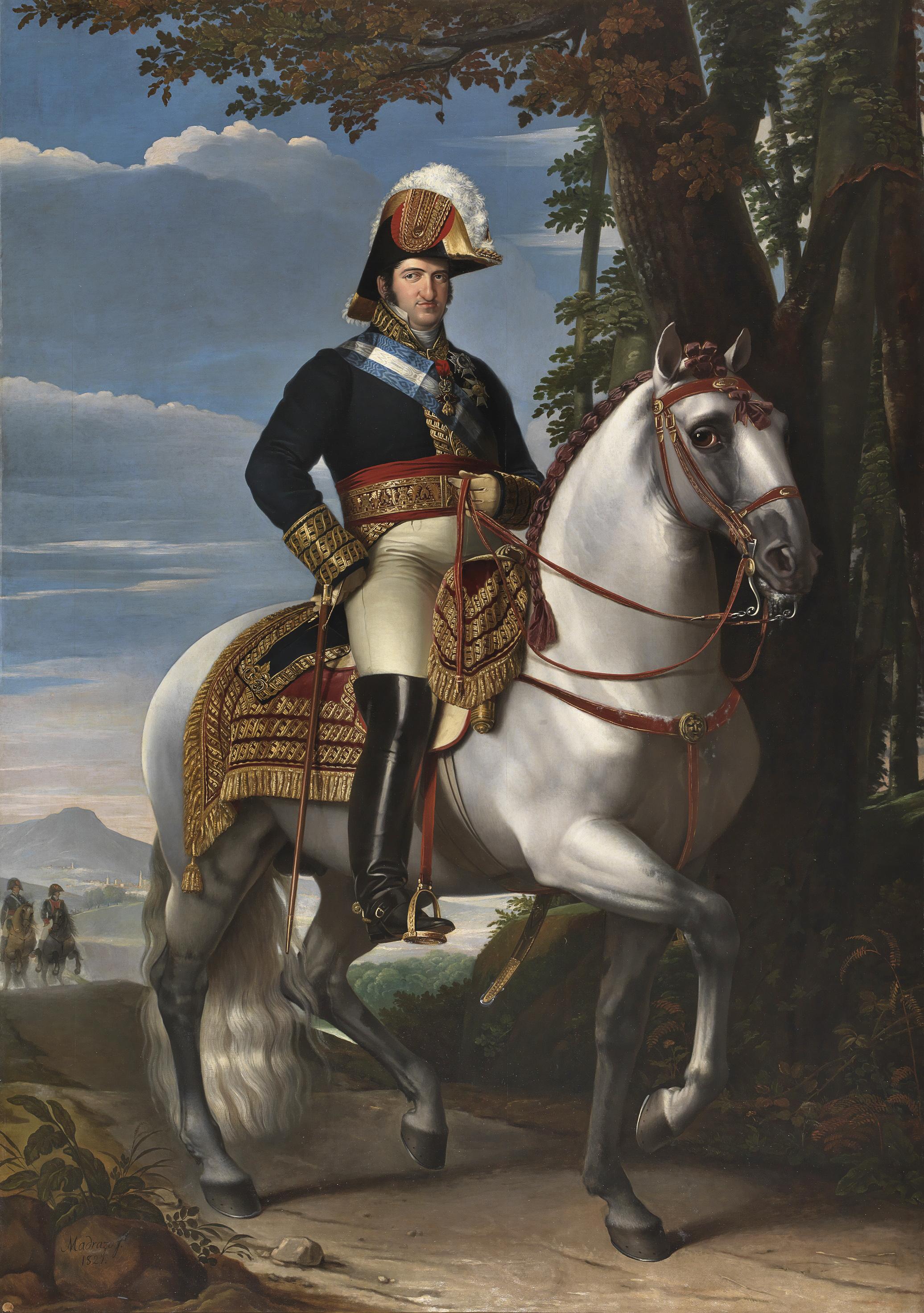 https://upload.wikimedia.org/wikipedia/commons/4/4a/Fernando_VII_a_caballo.jpg