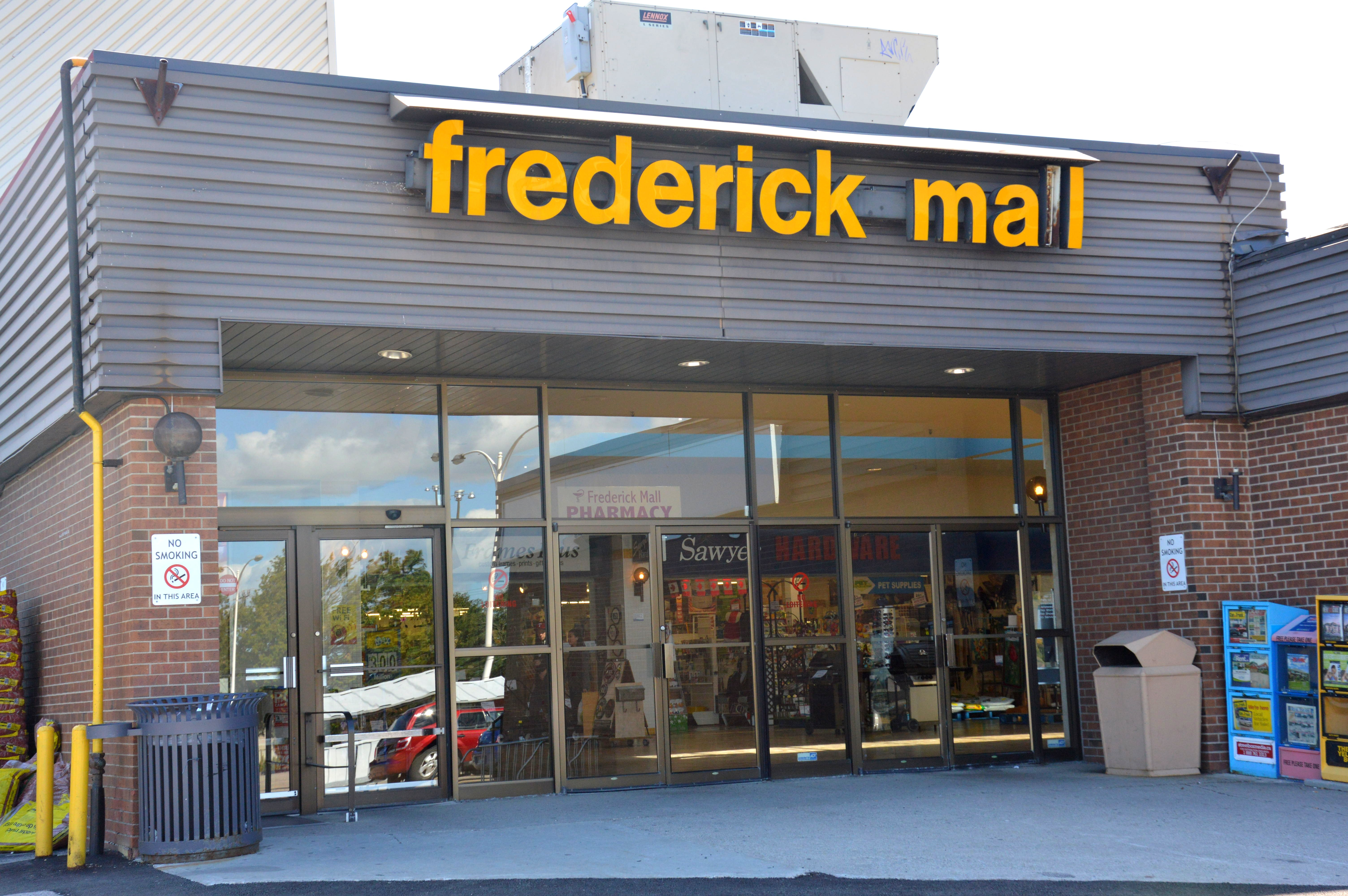 Frederick Mall Kitchener Stores