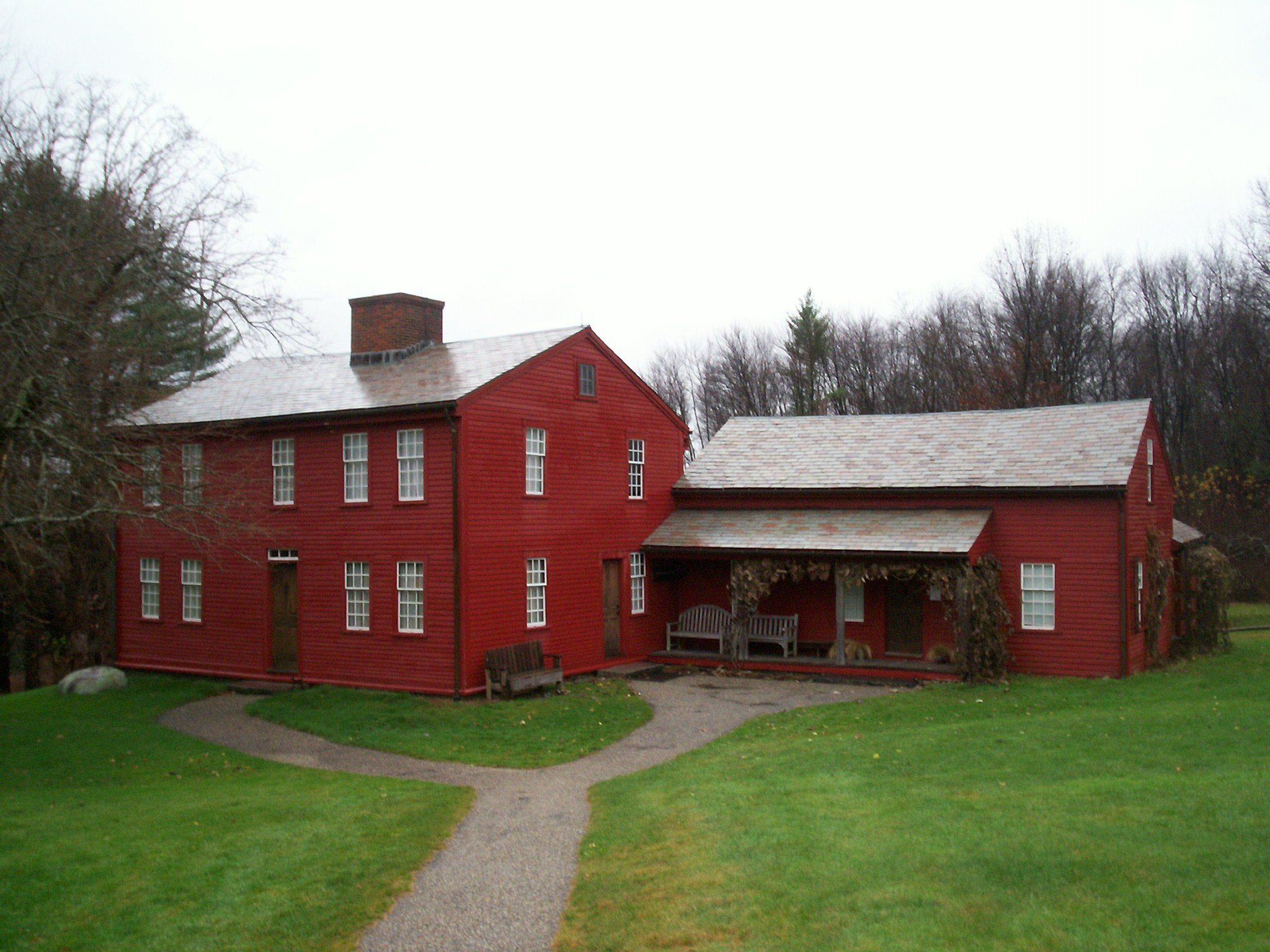 File Fruitlands farmhouse Wikimedia mons