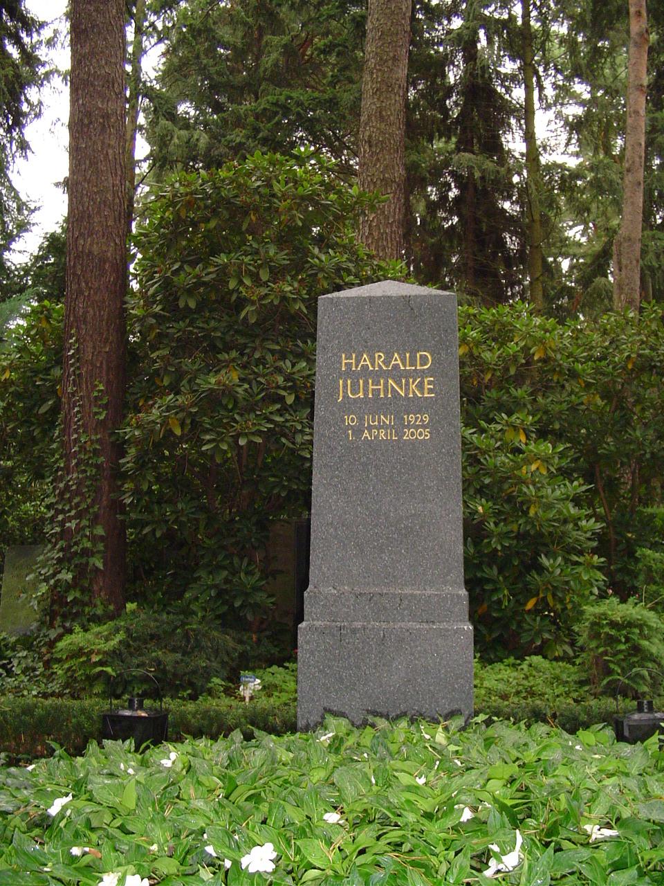 Grab von Harald Juhnke