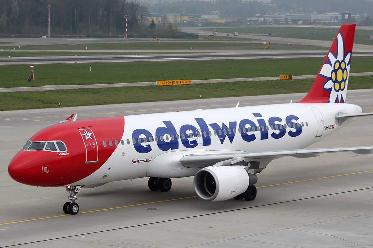 Edelweiss Air — European Airlines with most canceled  flights