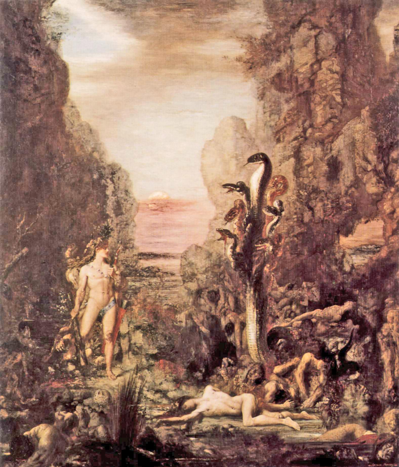 Resultado de imagen de Gustave Moreau+9