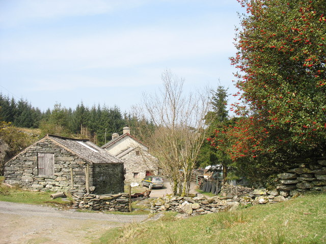 Hafod-las - a forester's house - geograph.org.uk - 402514
