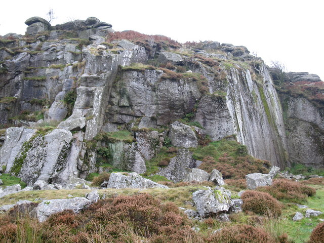 Holwell Quarry, Holwell Tor - geograph.org.uk - 1545046